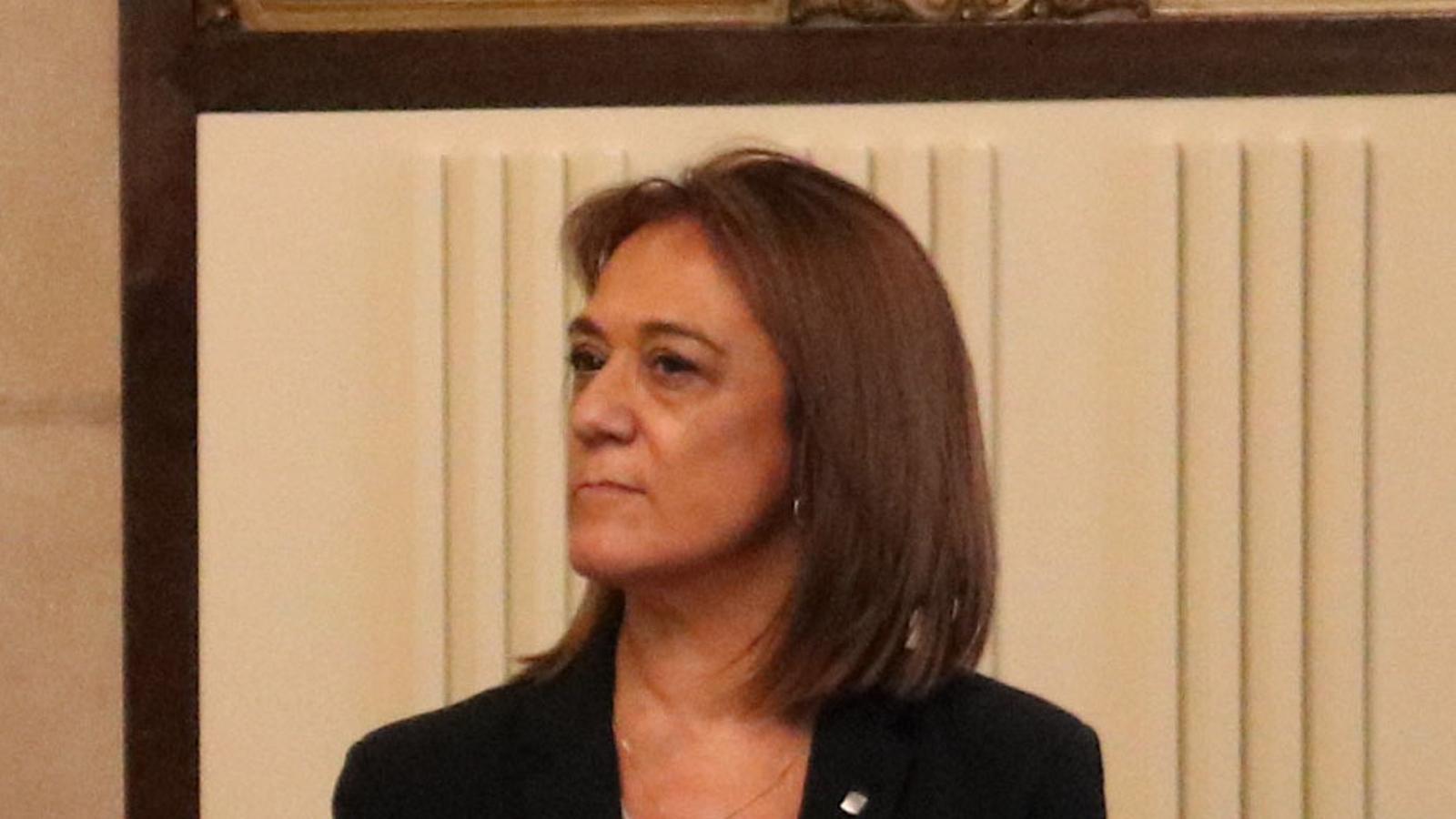 La directora general de Política Lingüística, Ester Franquesa.
