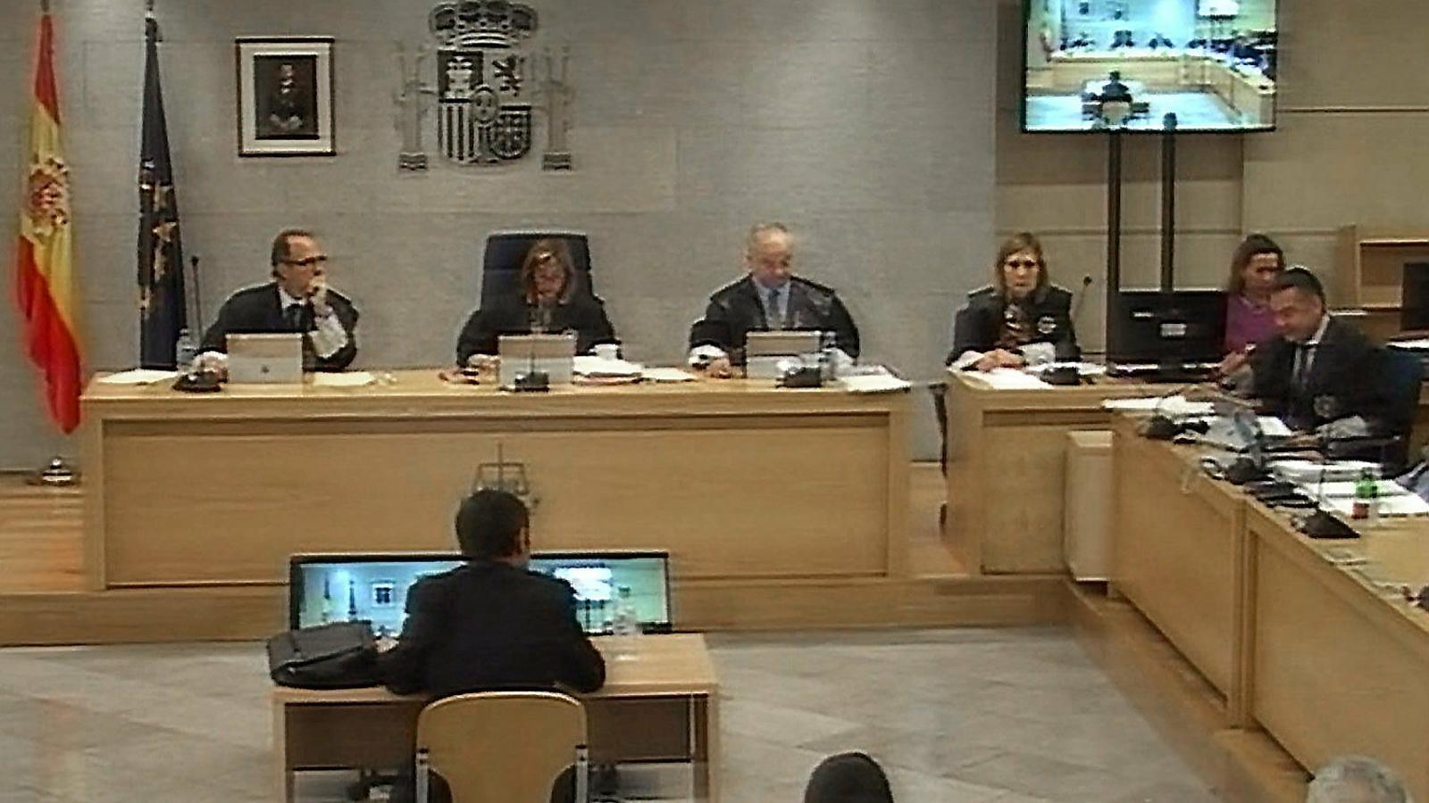 Una jornada del judici contra la cúpula dels Mossos a l'Audiència Nacional.