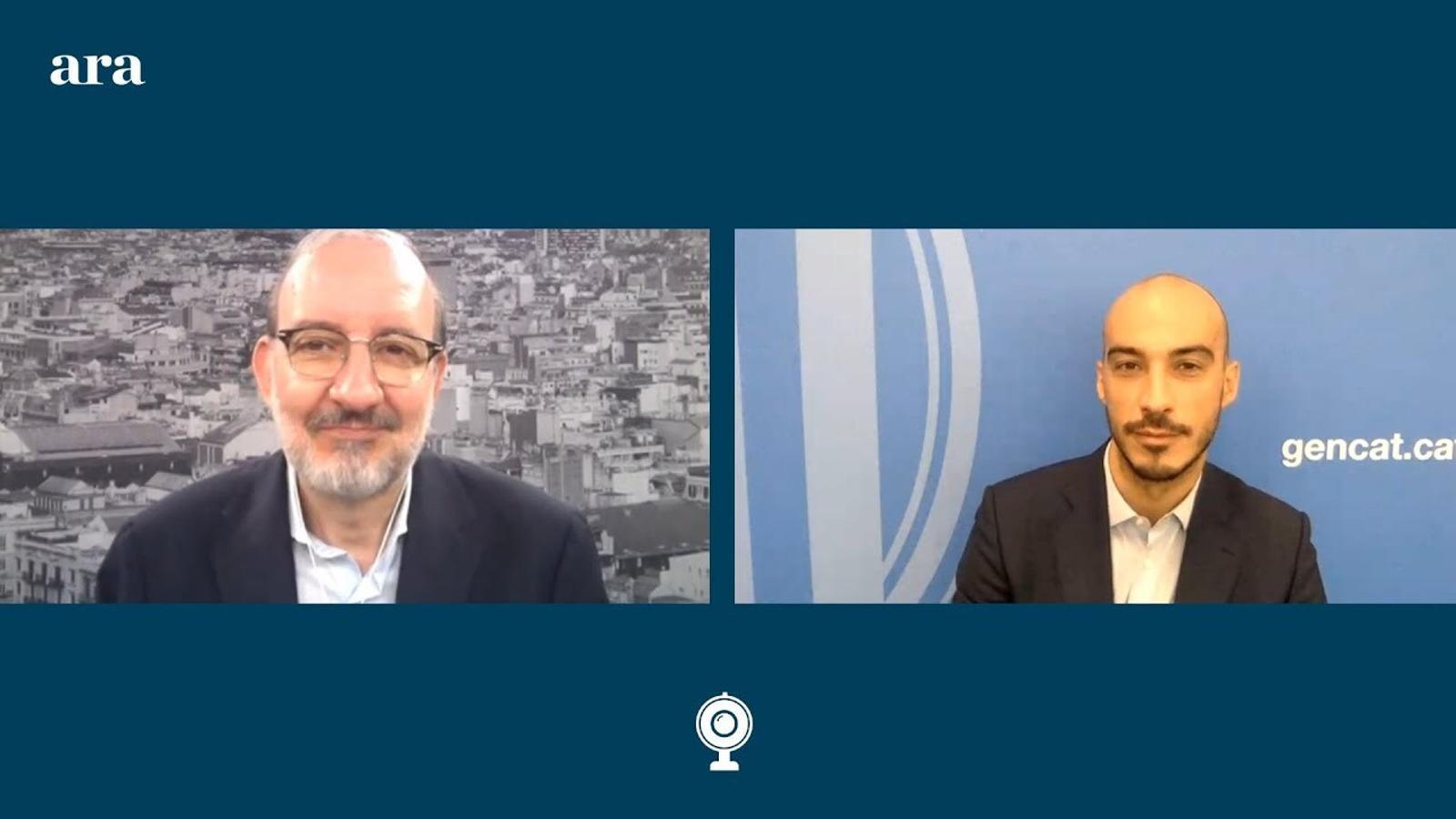 Entrevista d'Antoni Bassas a Lluís Juncà, director general de Promoció Econòmica, Competència i Regulació