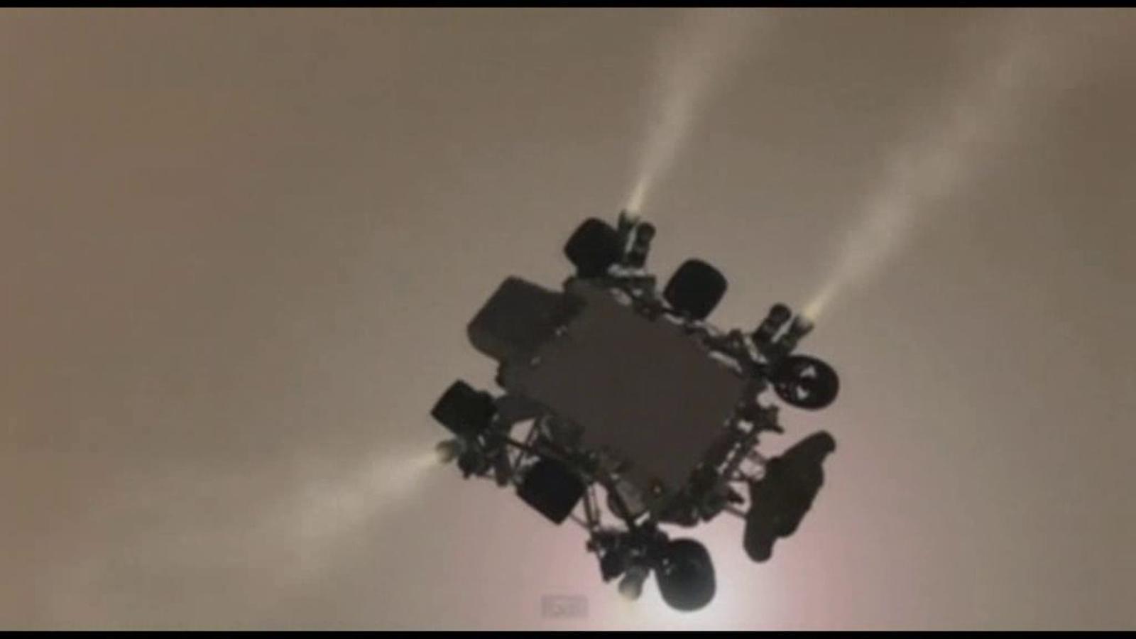 Eufòria a la NASA amb l'aterratge del 'Curiosity' a Mart