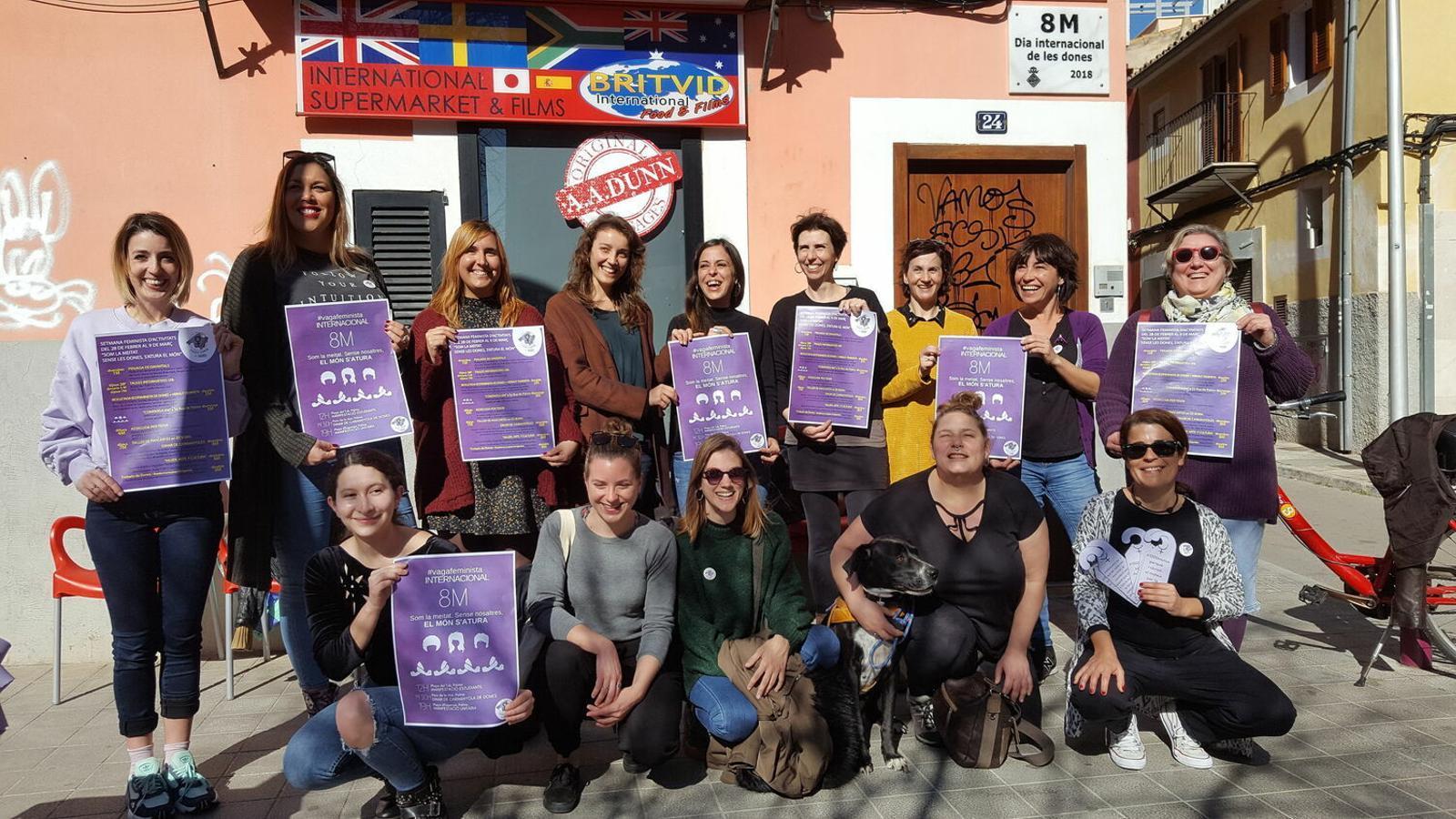 El Moviment Feminista de Mallorca demana a les dones votin partits d'esquerra