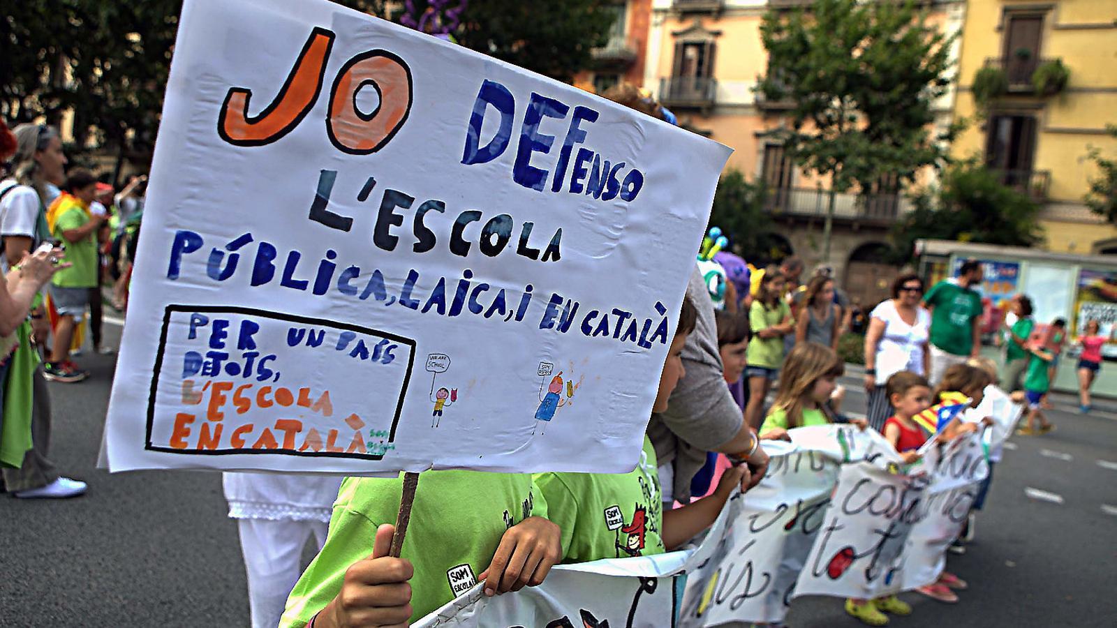 Ensenyament i la comunitat educativa preparen accions legals