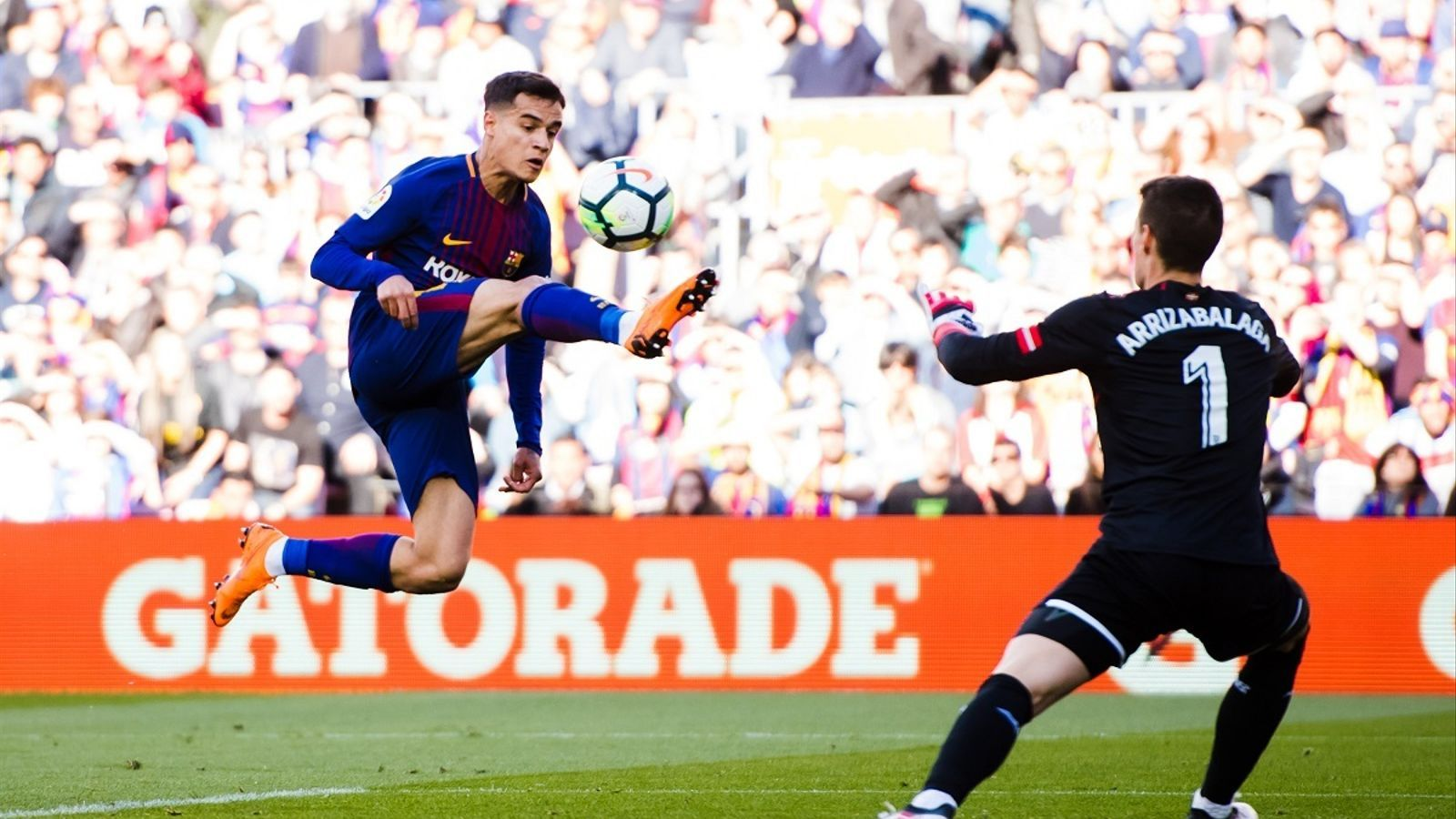 Coutinho, contra l'Athletic