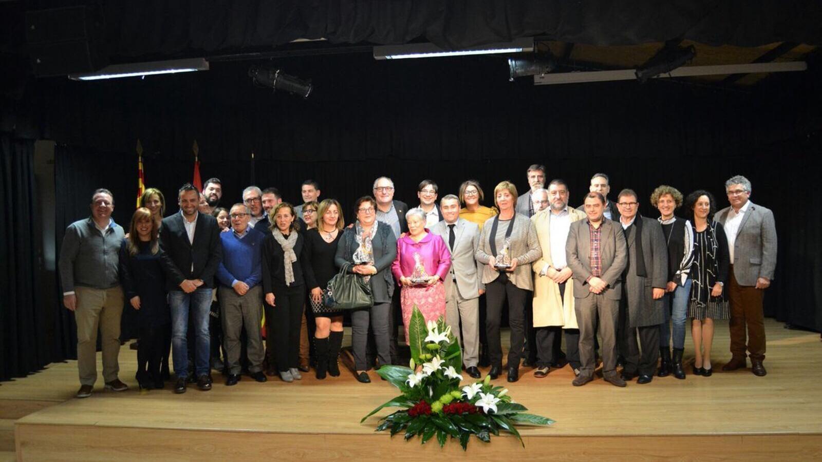 Inca premia Mercedes Lara, Joan Sastre i la merceria La Florida per la seva aportació a la ciutat