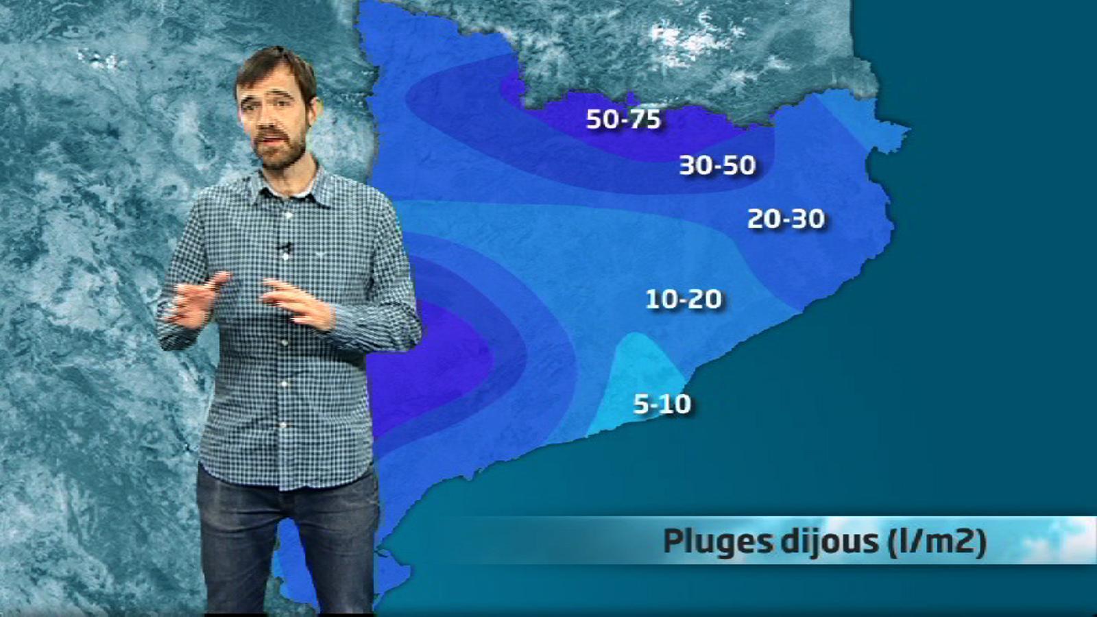 Méteo especial: pluges i mala mar una altra vegada (02/04/2014)