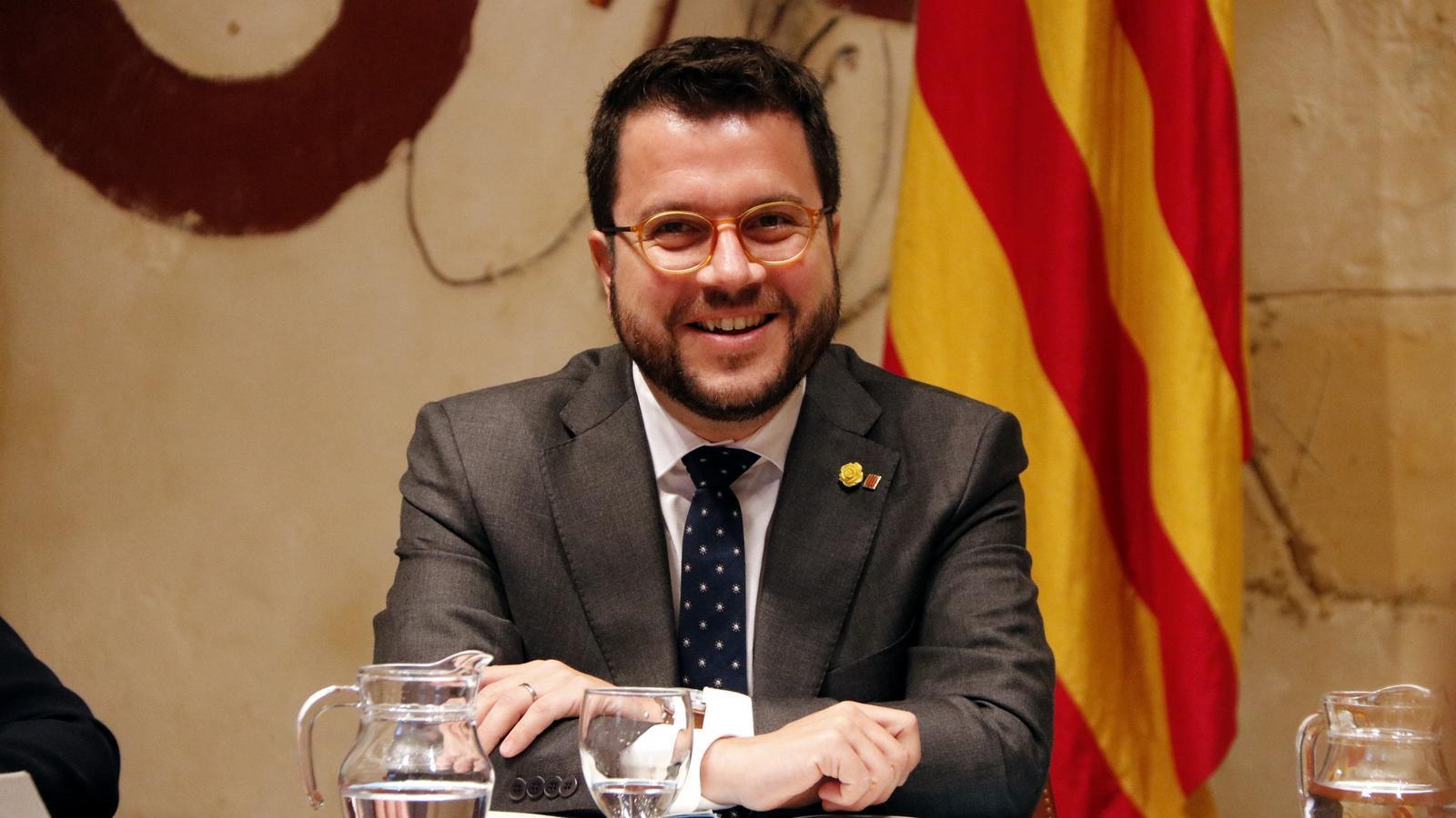 Aragonès diu que en la taula de negociació amb el PSOE caldrà trobar solucions per als presos polítics