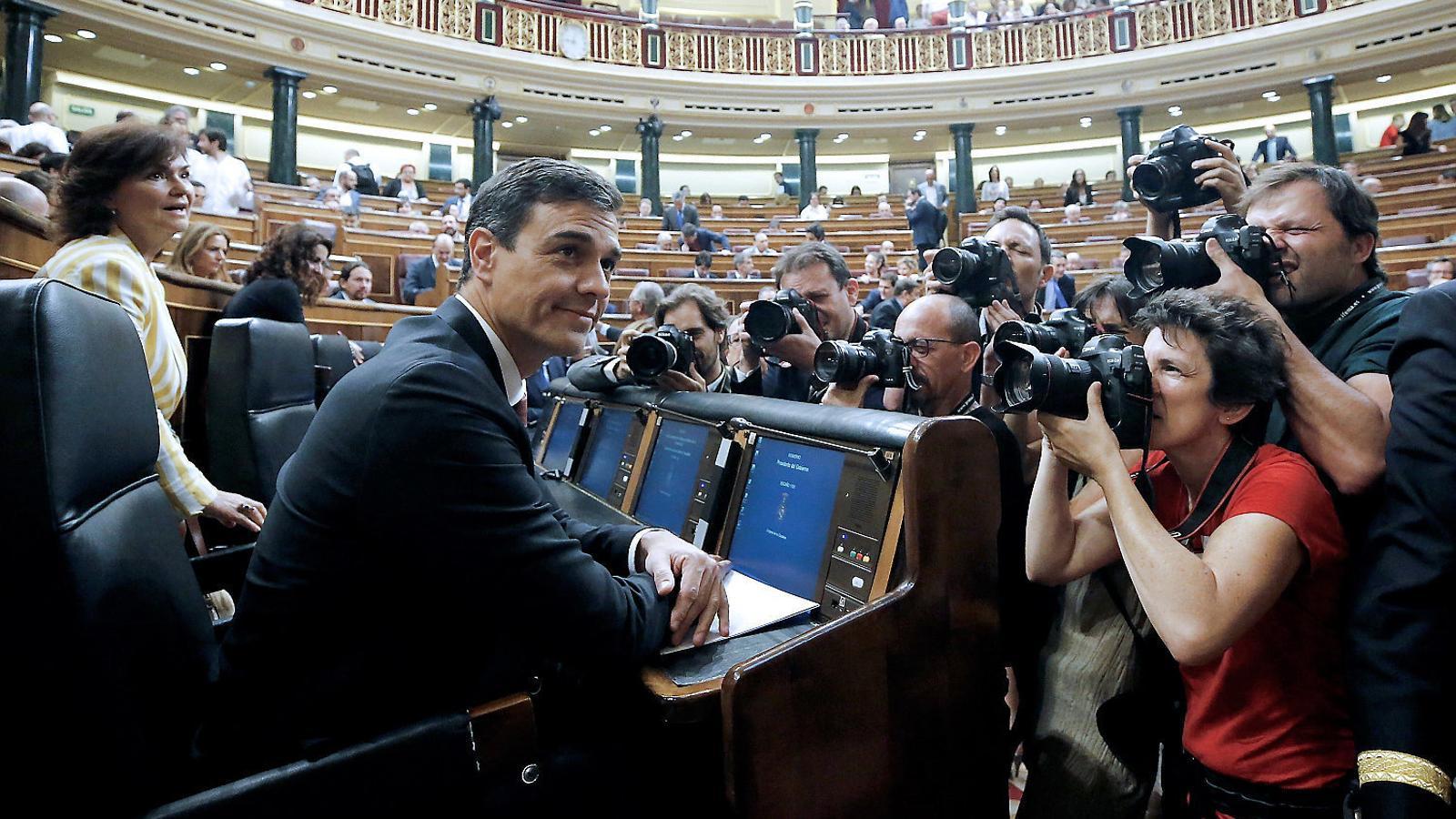 Sánchez refreda la reforma del finançament, però promet millores