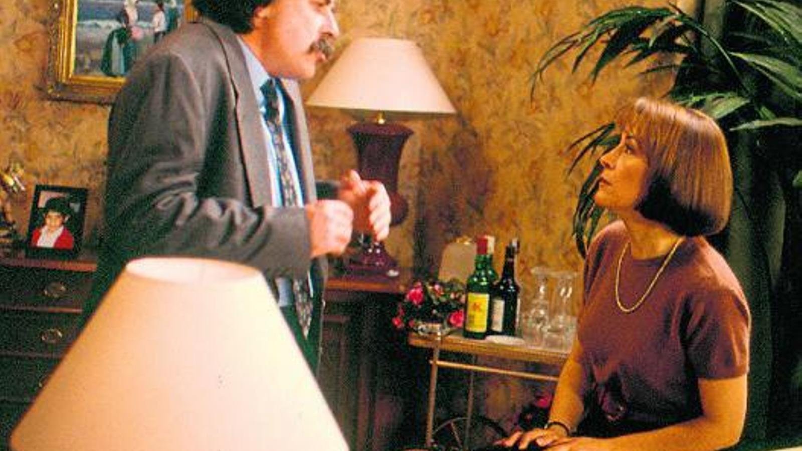 PARES DE FAMÍLIA  El desaparegut Miquel Cors  i Margarida Minguillón interpretaven l'Antònio i la Rosa, els pares de la família protagonista de Poblenou.