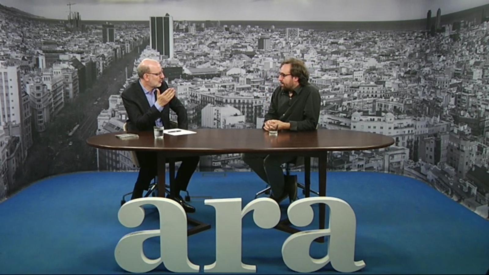 Entrevista d'Antoni Bassas a Roger Mas