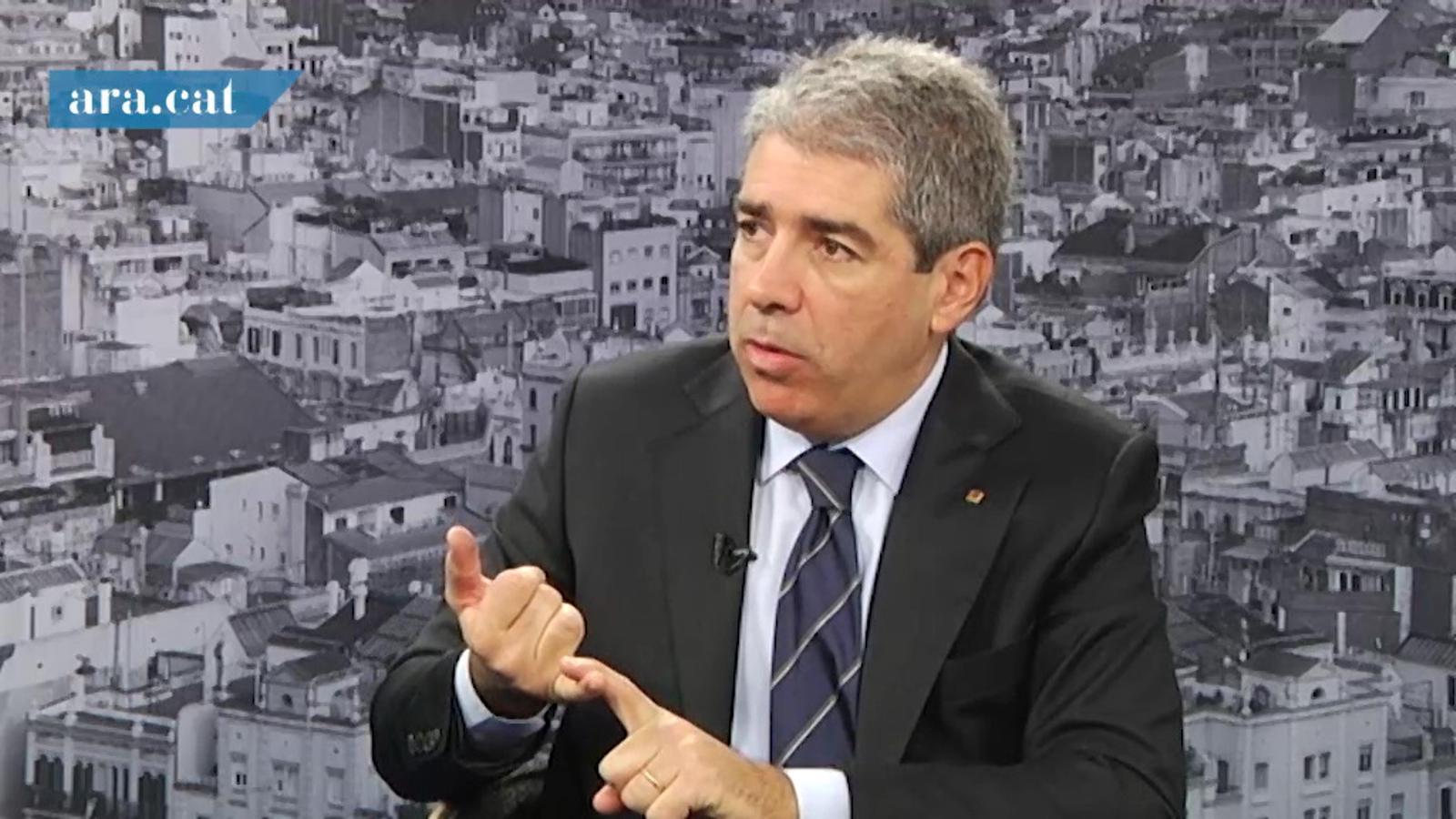 """Homs creu que Wert va: """"en contra de tot el que faci referència al món esportiu català"""""""