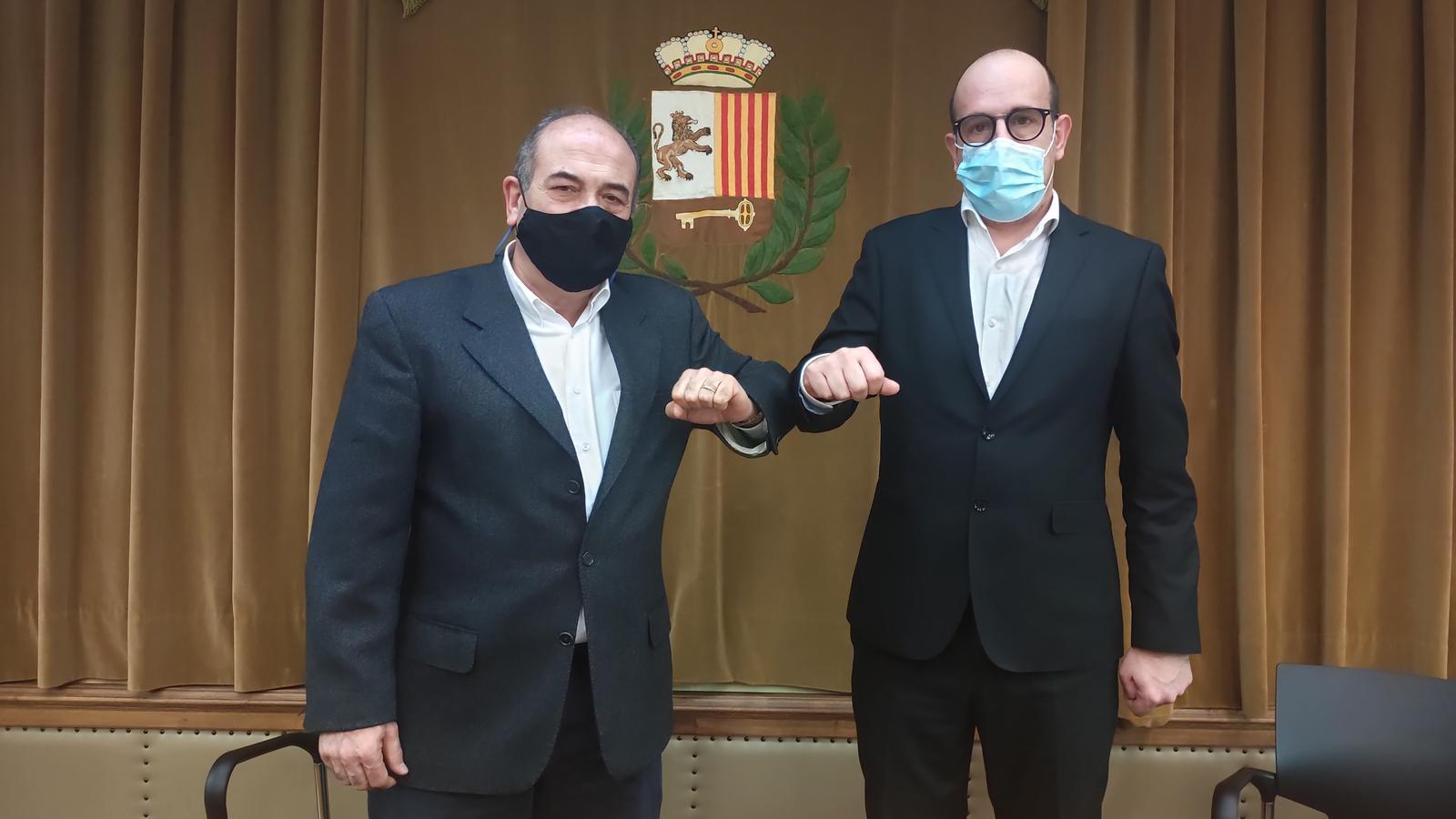 Convèni deth Ajuntament de Vielha e Mijaran e era Fundació 'La Caixa'. / AJ. VIELHA E MIJARAN