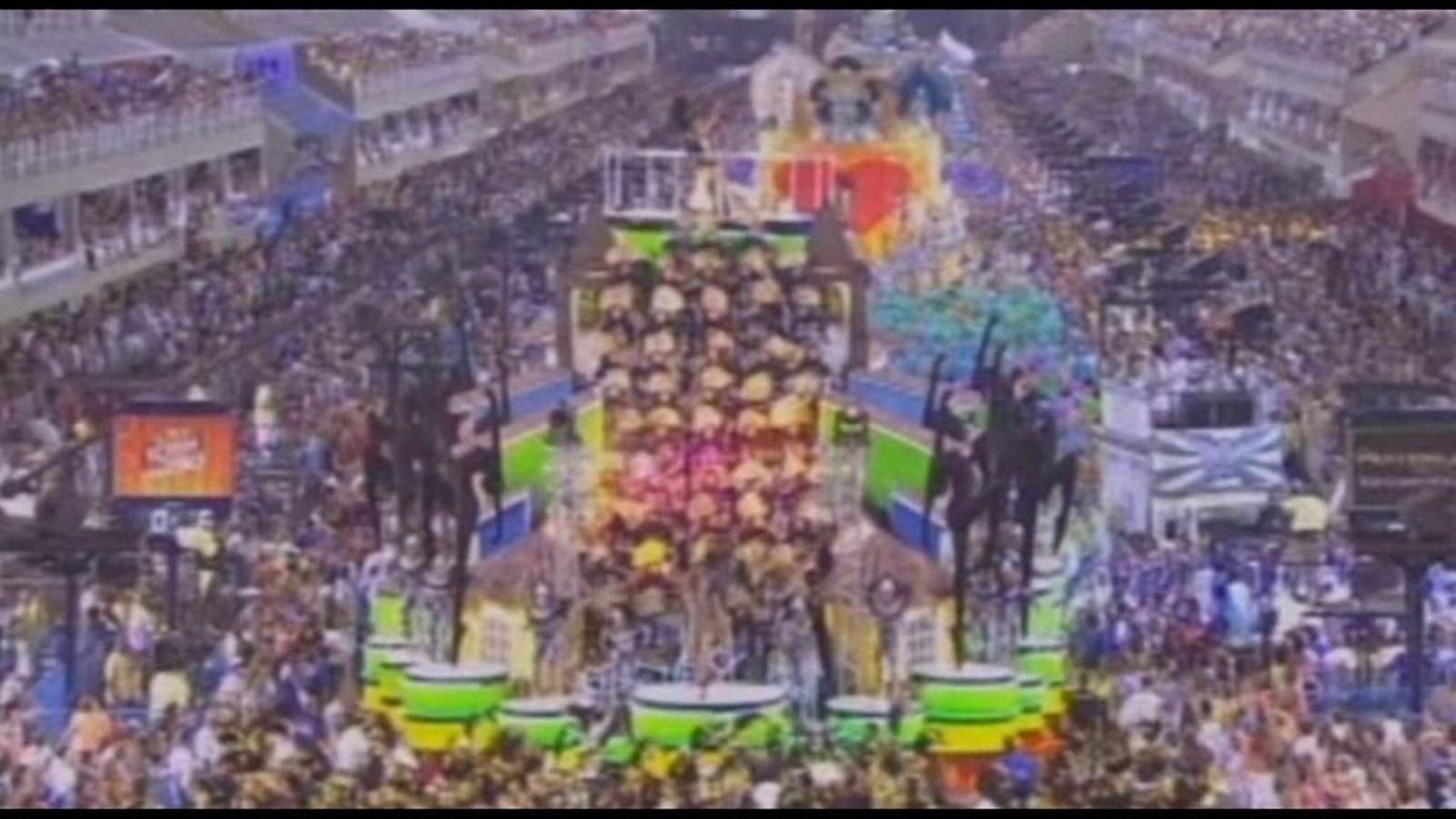 L'espectacle del Carnaval de Rio