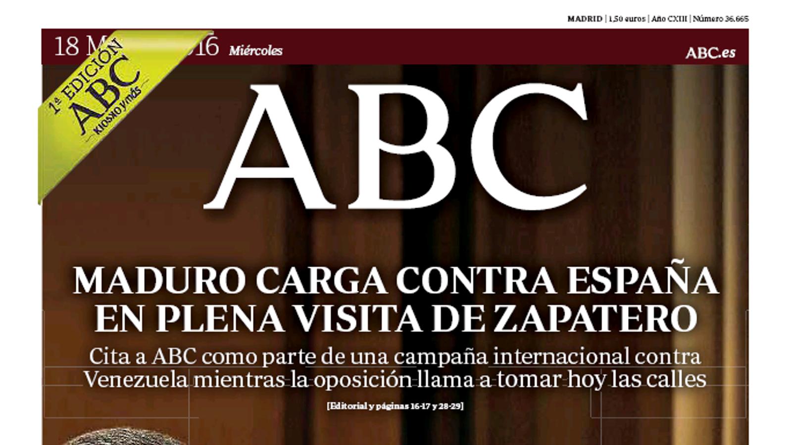 Portada de l'ABC