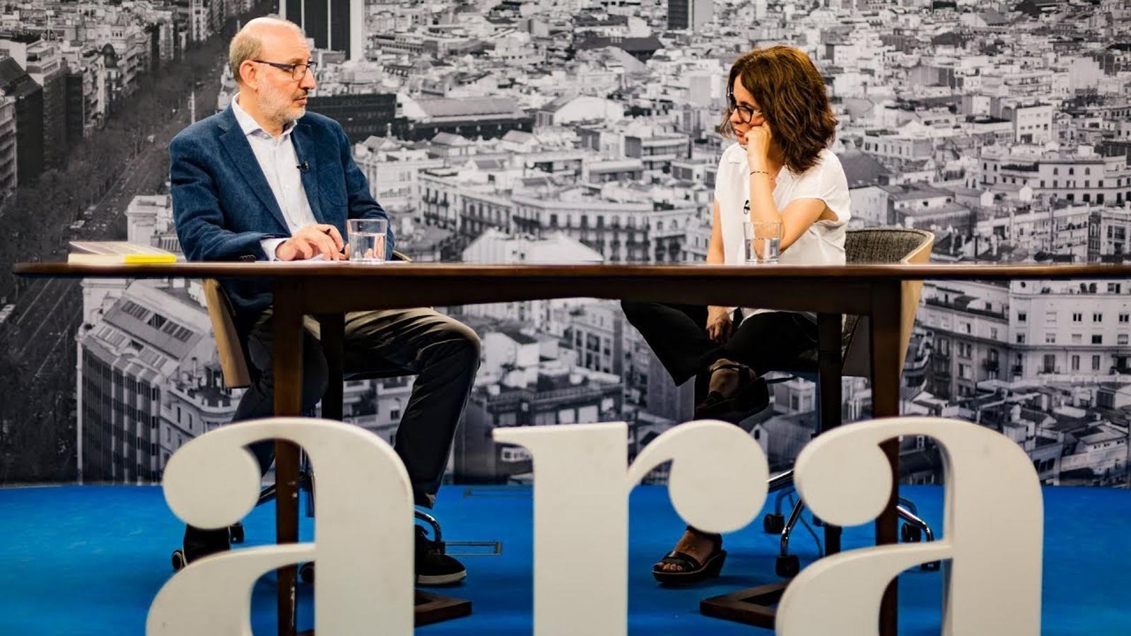 Entrevista d'Antoni Bassas a Susanna Barreda