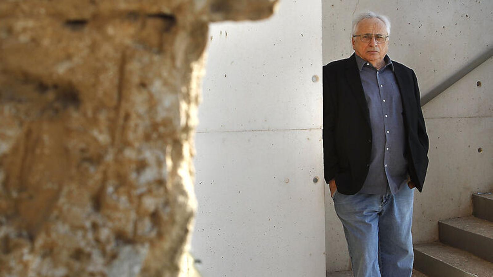 L'escriptor mallorquí Guillem Frontera.