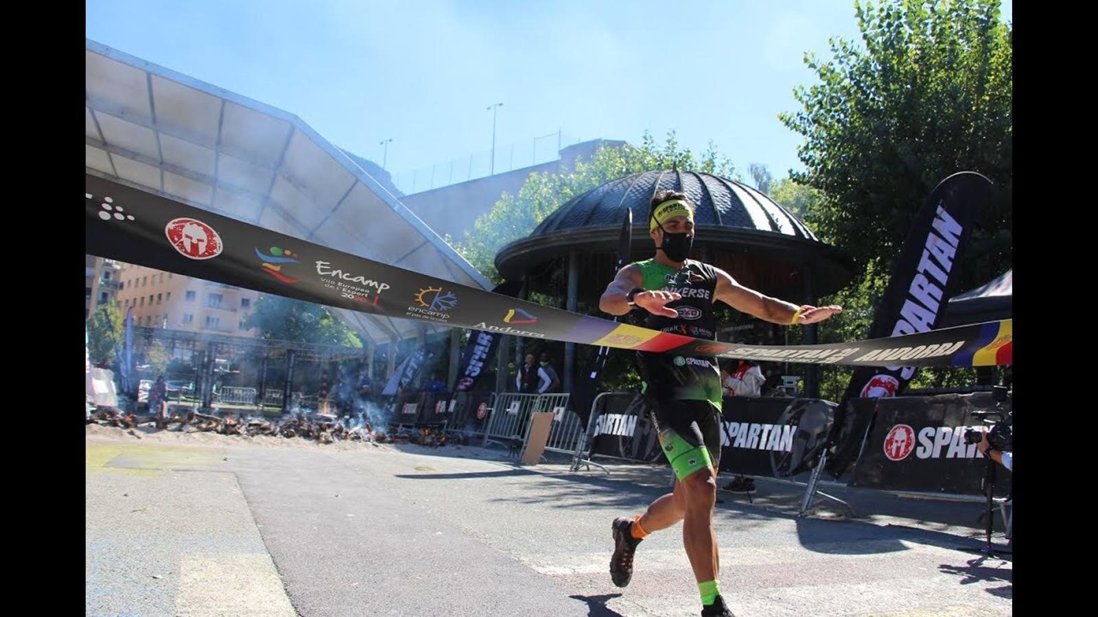 Cinquena edició de l'Spartan Race a Encamp