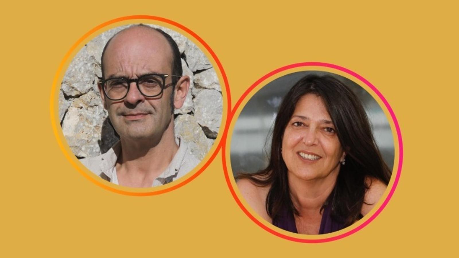 Sebastià Alzamora i Cristina Ros