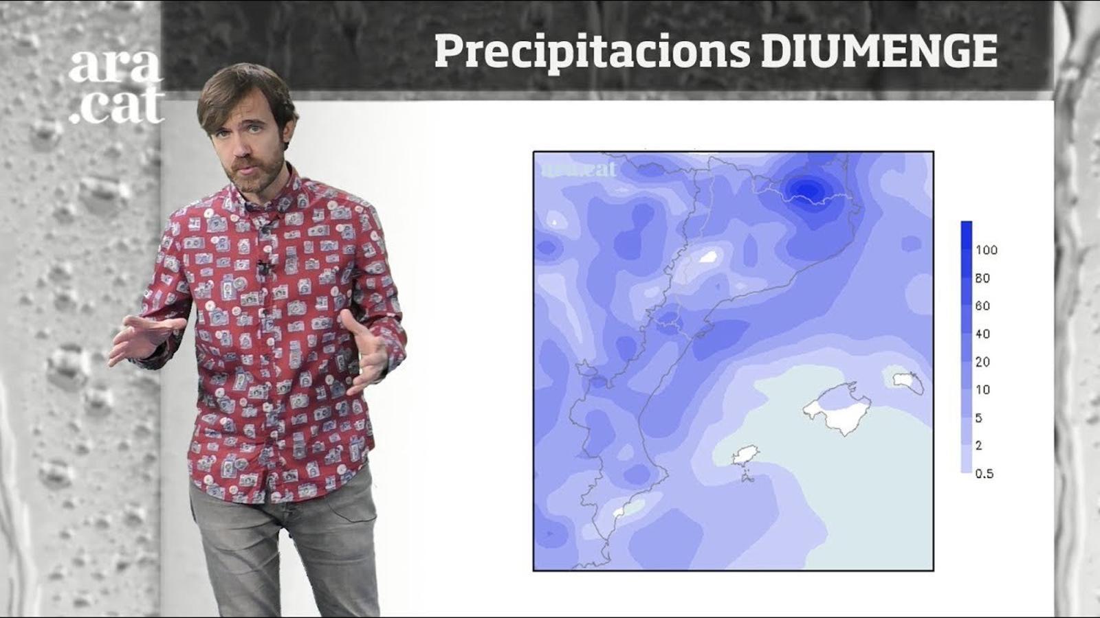 Méteo especial: nova tongada de pluges, neu i temporal marítim