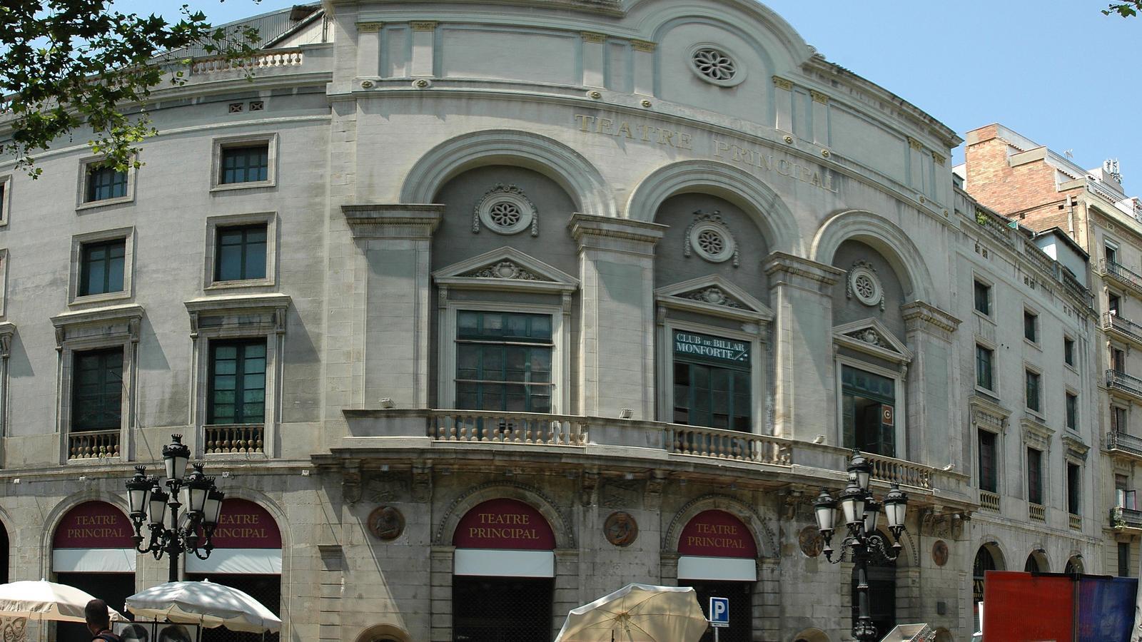 Façana del Teatre Principal de Barcelona