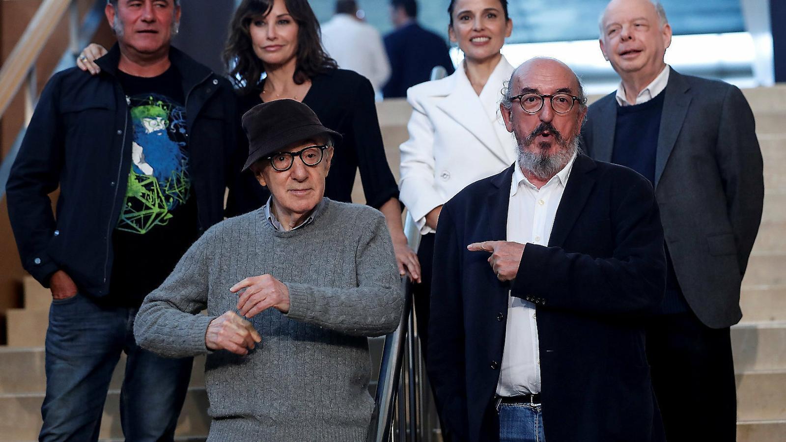 "Woody Allen: ""Probablement em moriré en un plató dirigint"""
