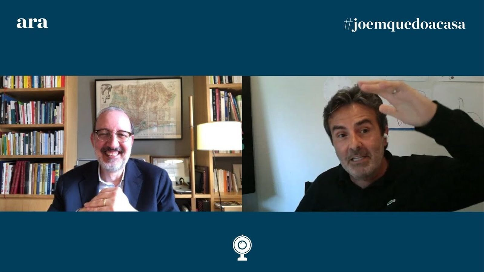 Entrevista d'Antoni Bassas a Xavier Sala i Martín