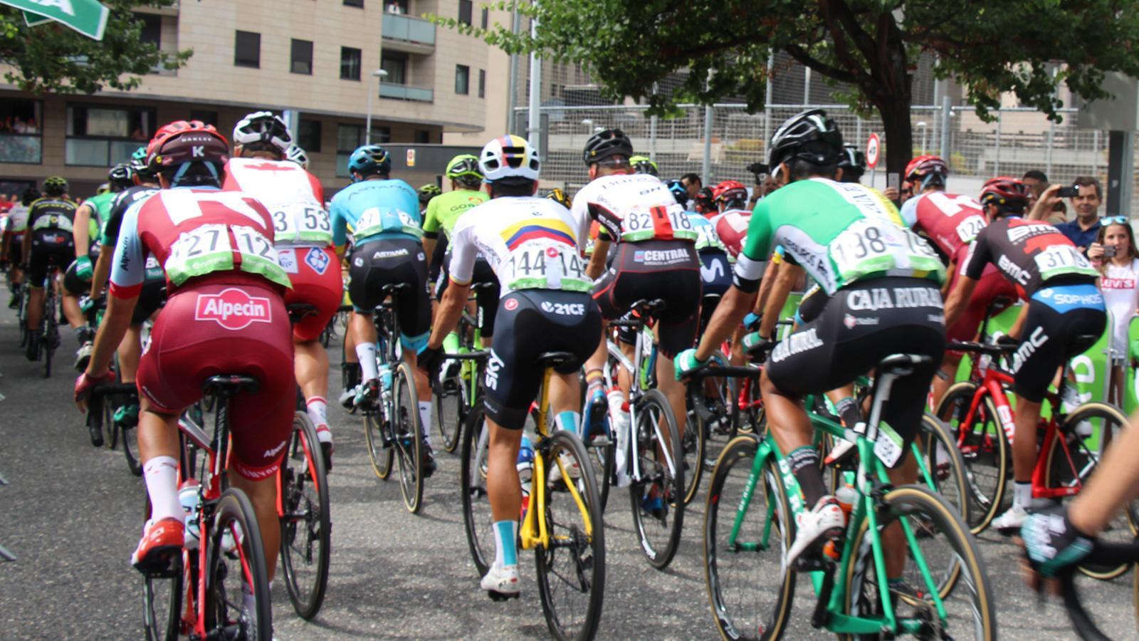 Imatge de La Vuelta 2018. / ARXIU ANA