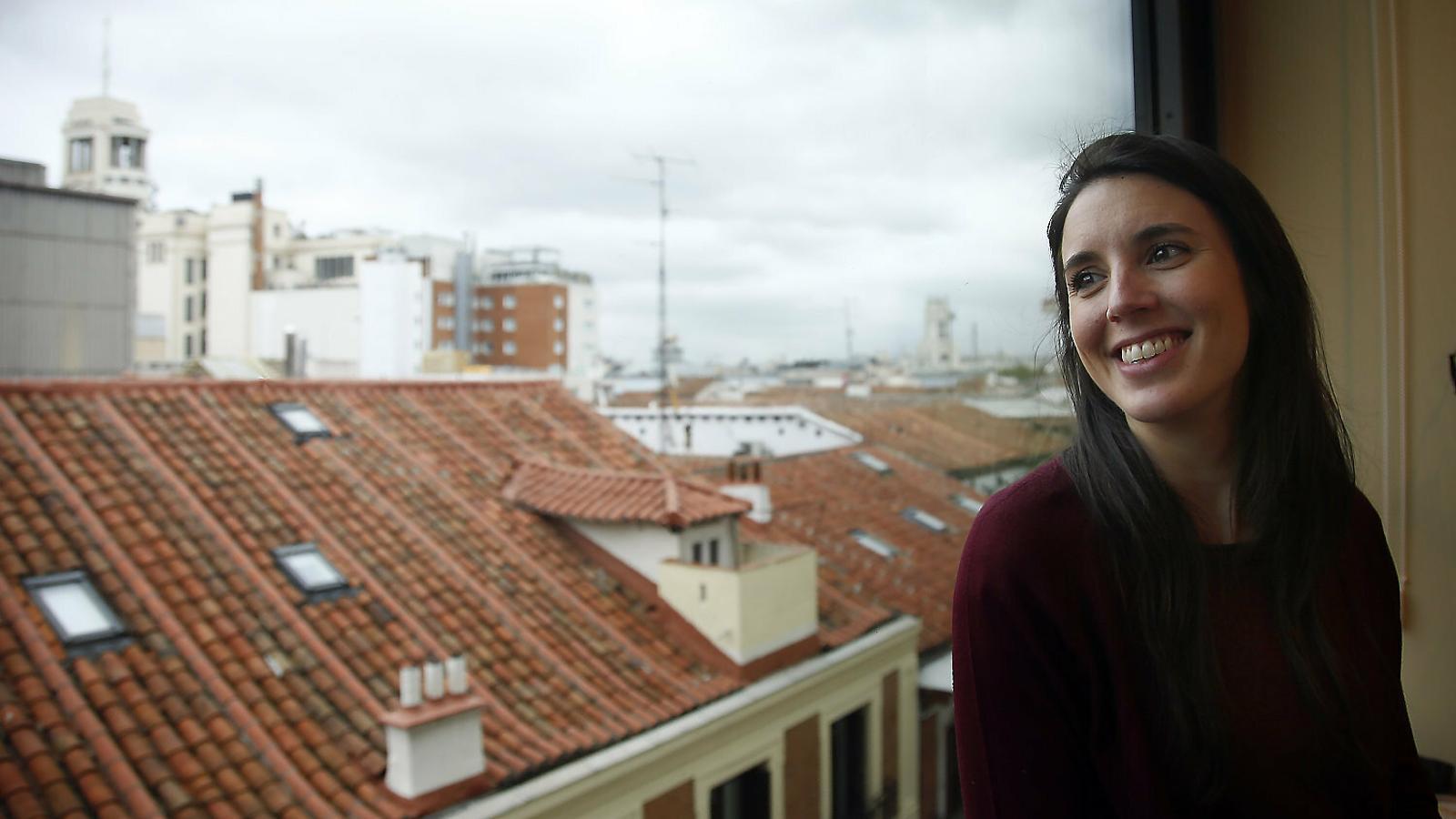 """Irene Montero: """"La limitació de drets pot venir del 'trifachito' o d'un pacte PSOE-Cs"""""""