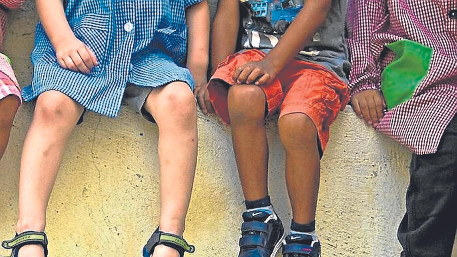 Devers un 10% dels nins i adolescents de Palma està en situació de risc