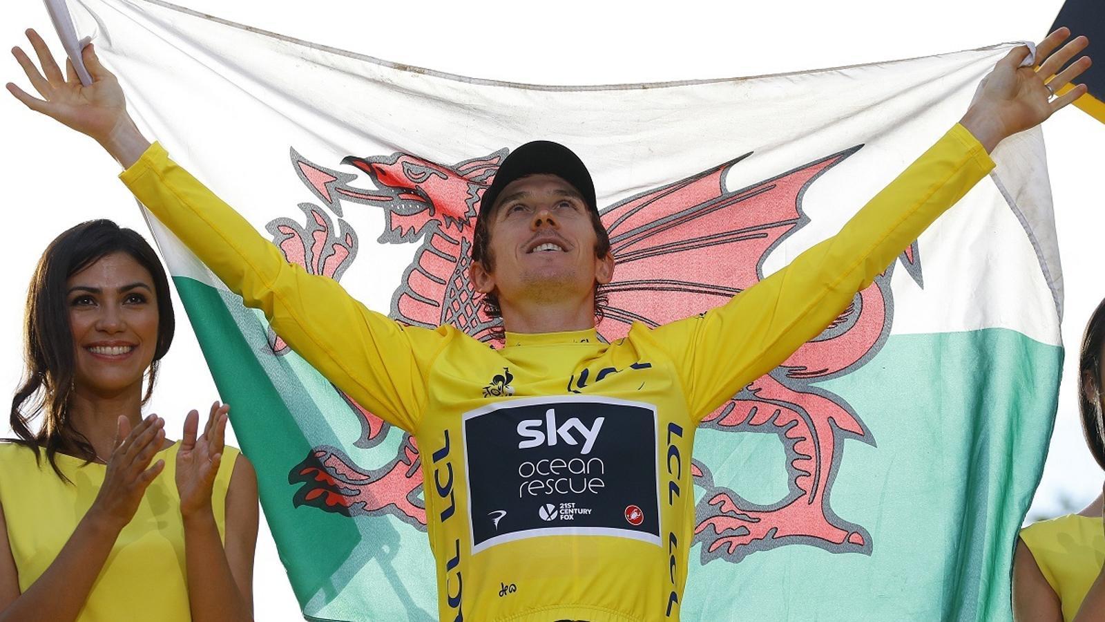 Geraint Thomas, guanyador del Tour de França 2018