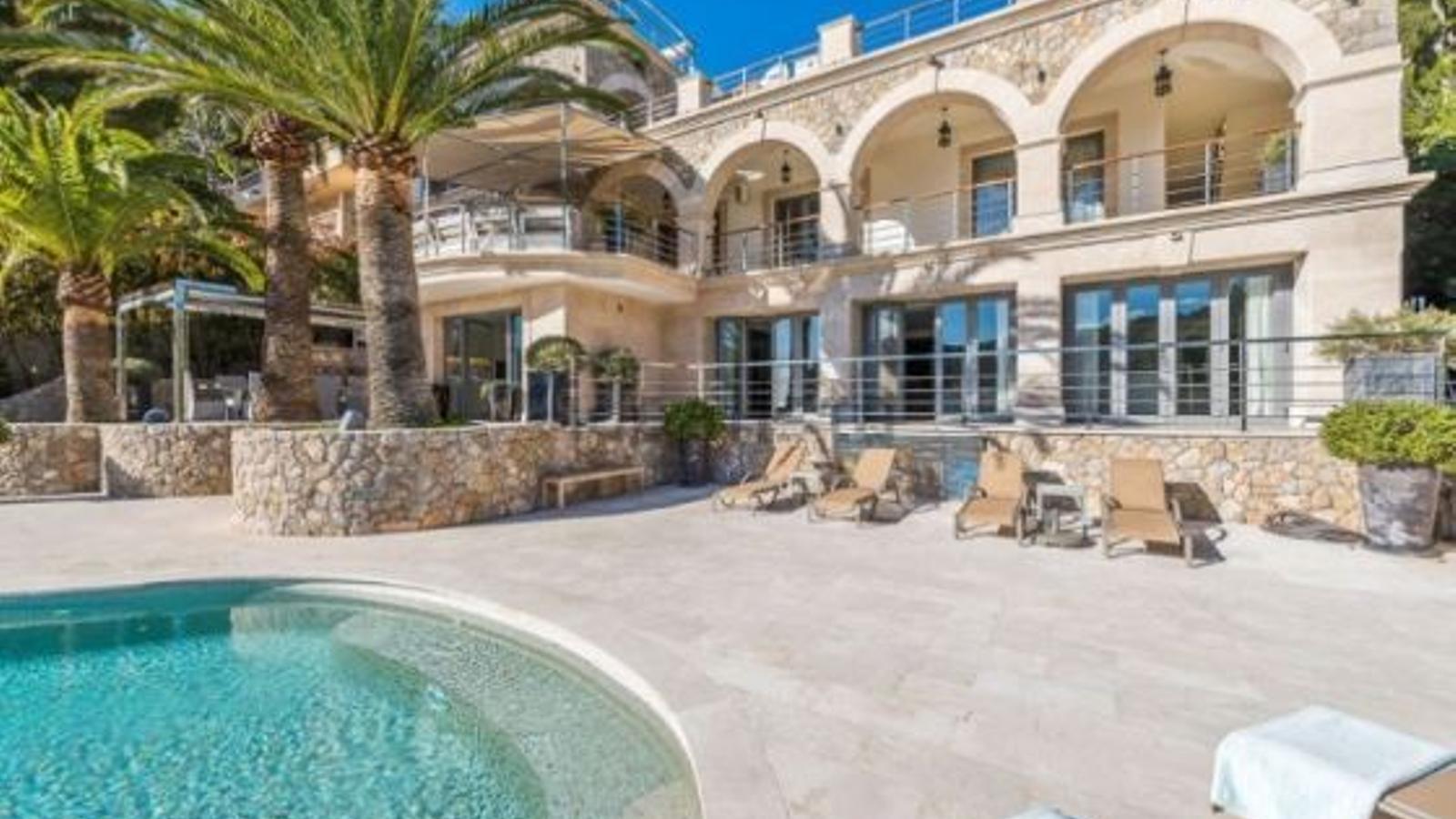 Imatge d'una de les cases més cares de Mallorca.