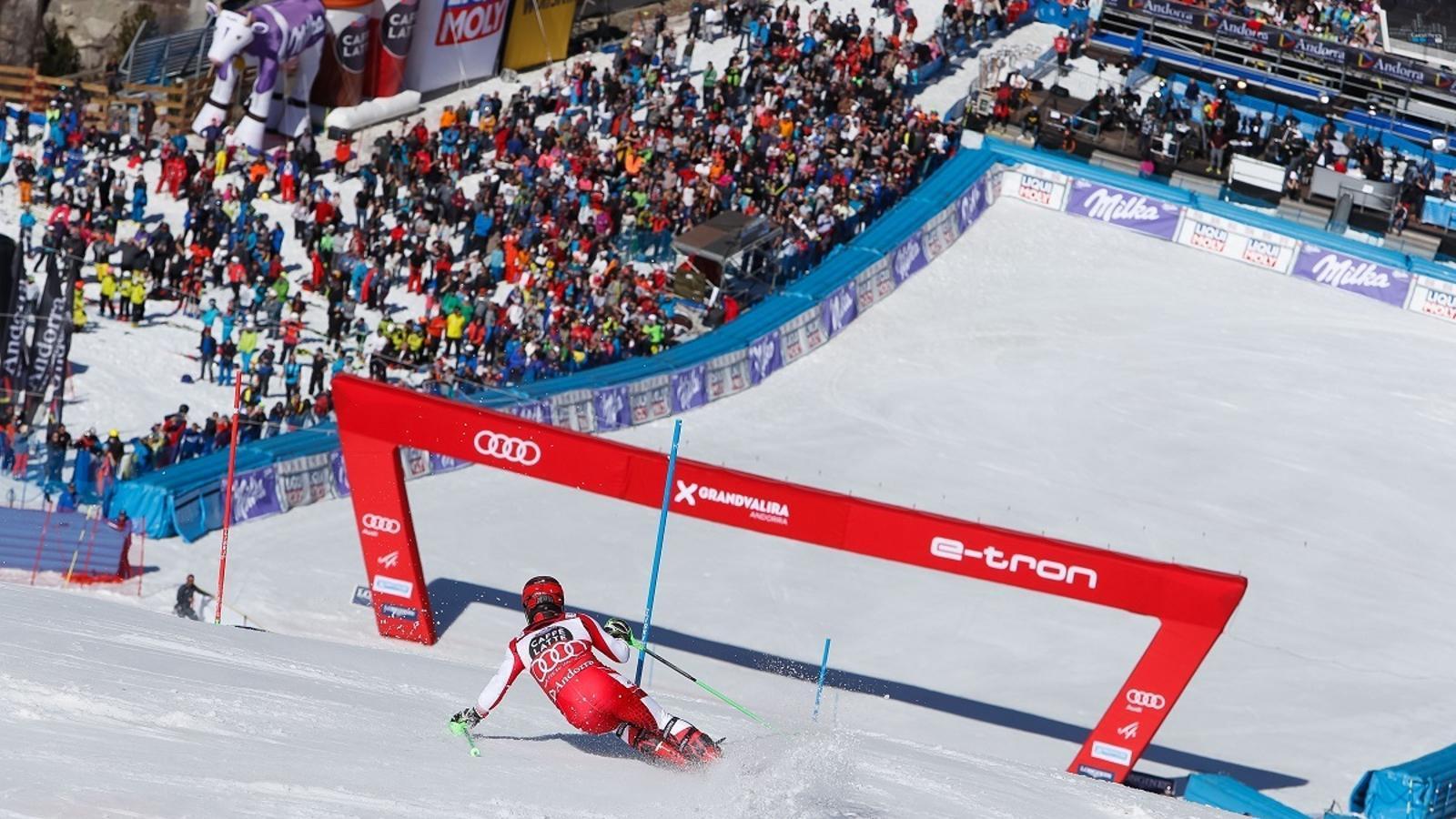 Andorra sedueix els millors esquiadors del món
