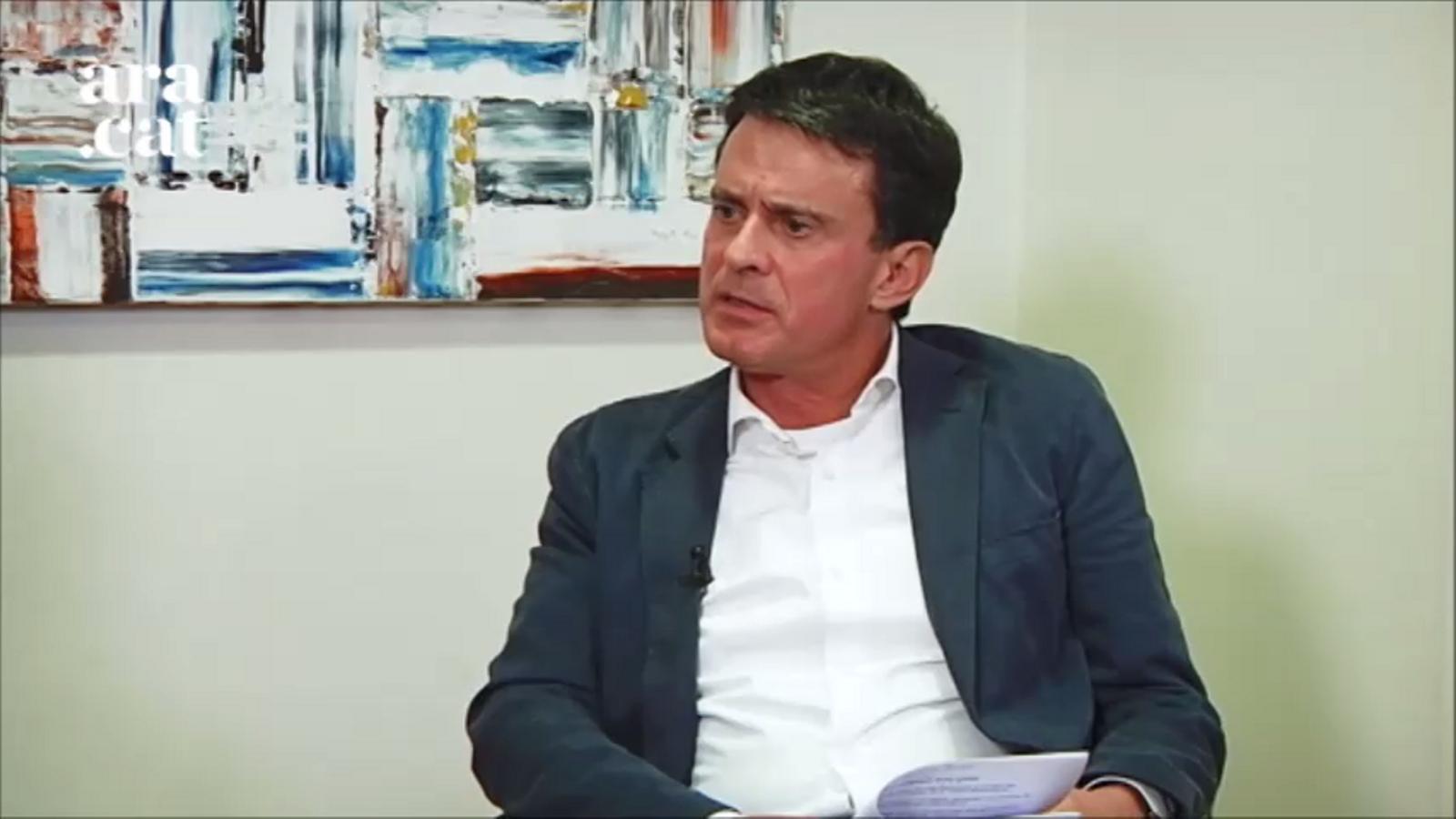 Entrevista d'Esther Vera a Manuel Valls