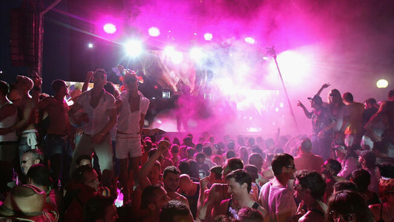 Imatge d'arxiu d'una discoteca d'Eivissa.