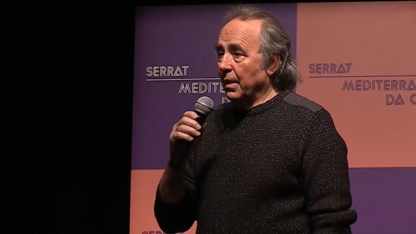 """Serrat, sobre l'independentisme: """"Estan marejant la perdiu"""""""