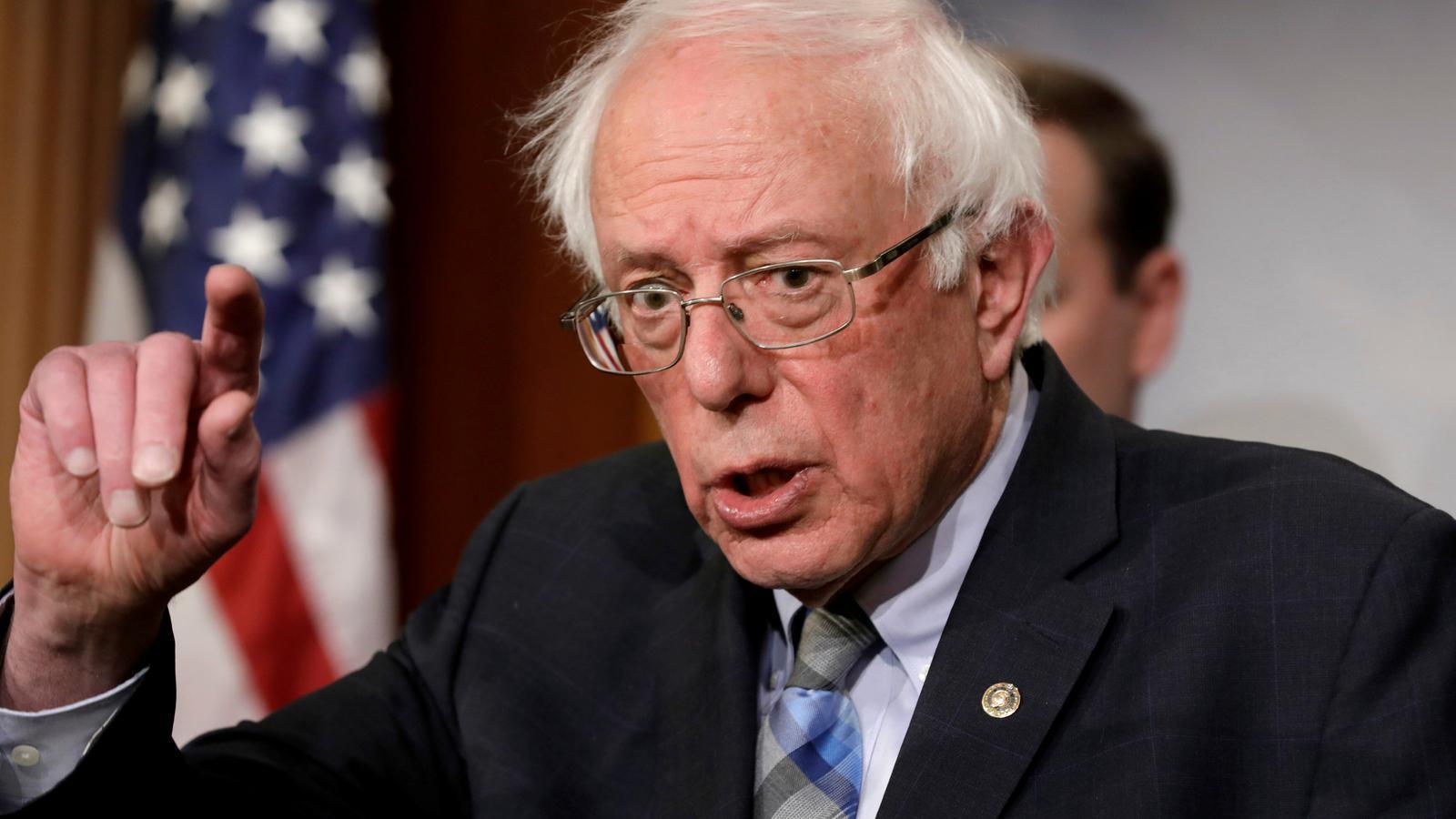 Bernie Sanders presenta la seva candidatura a la presidència dels EUA
