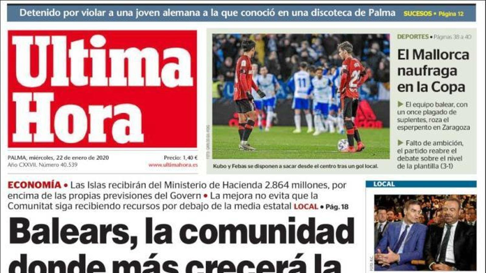 """""""Sánchez va ocultar el seu pla d'indult encobert a Junqueras"""", la portada de l'""""Abc"""""""