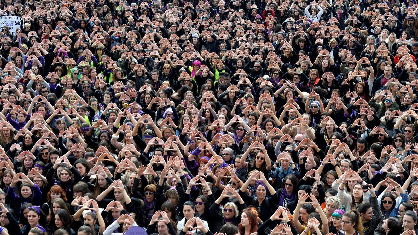 La manifestació a Bilbao va ser una de les més nombroses de tot l'Estat.