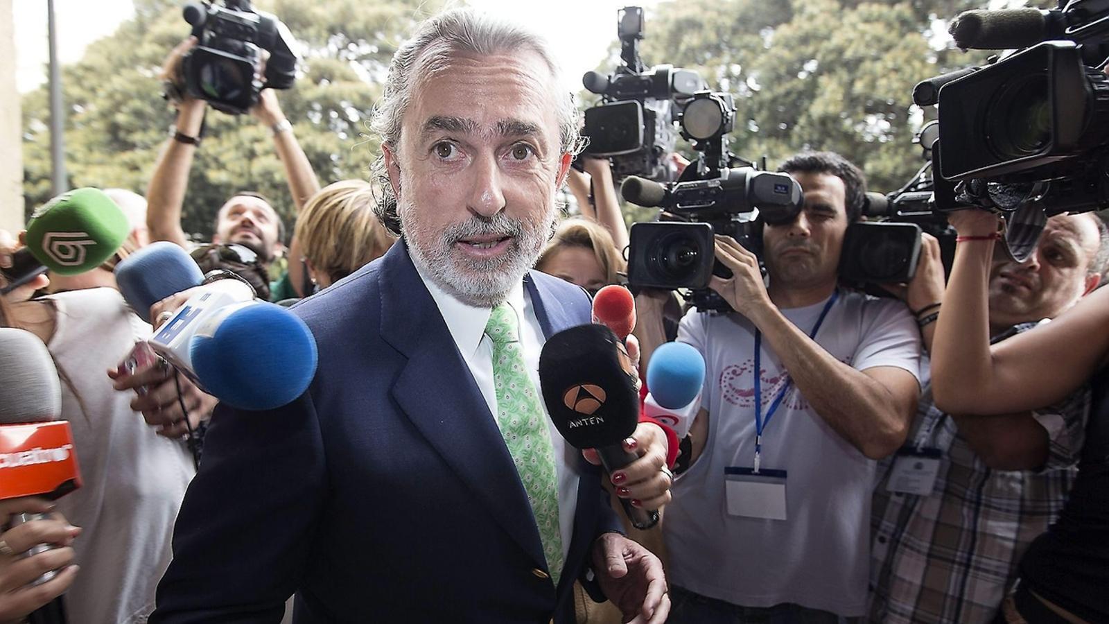 Correa assenyala Camps pel finançament del PP valencià
