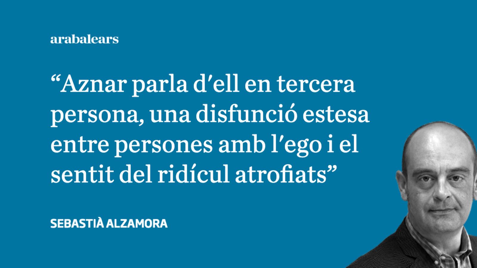Un agraïment a Aznar