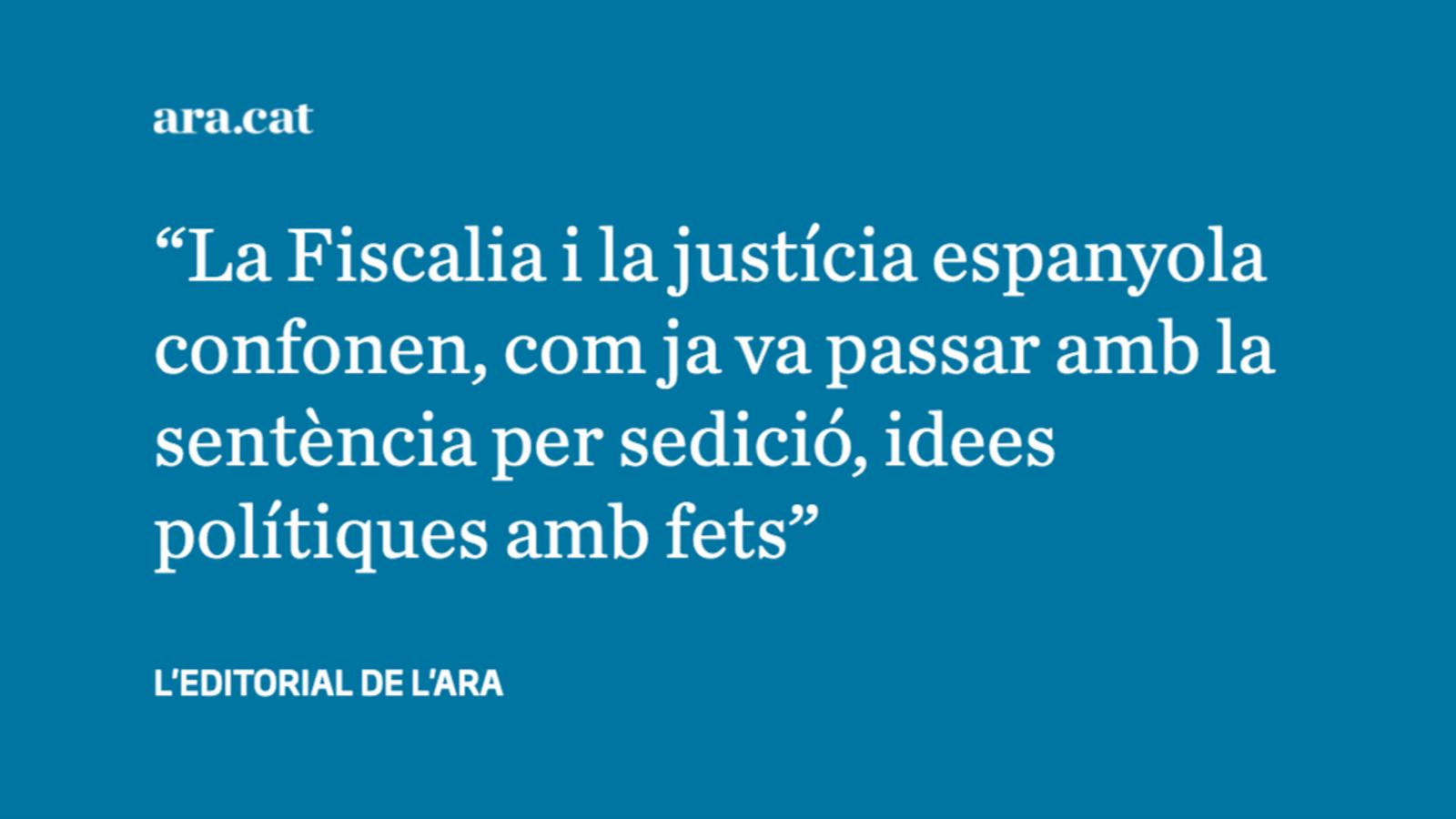 Una Fiscalia anticonstitucional