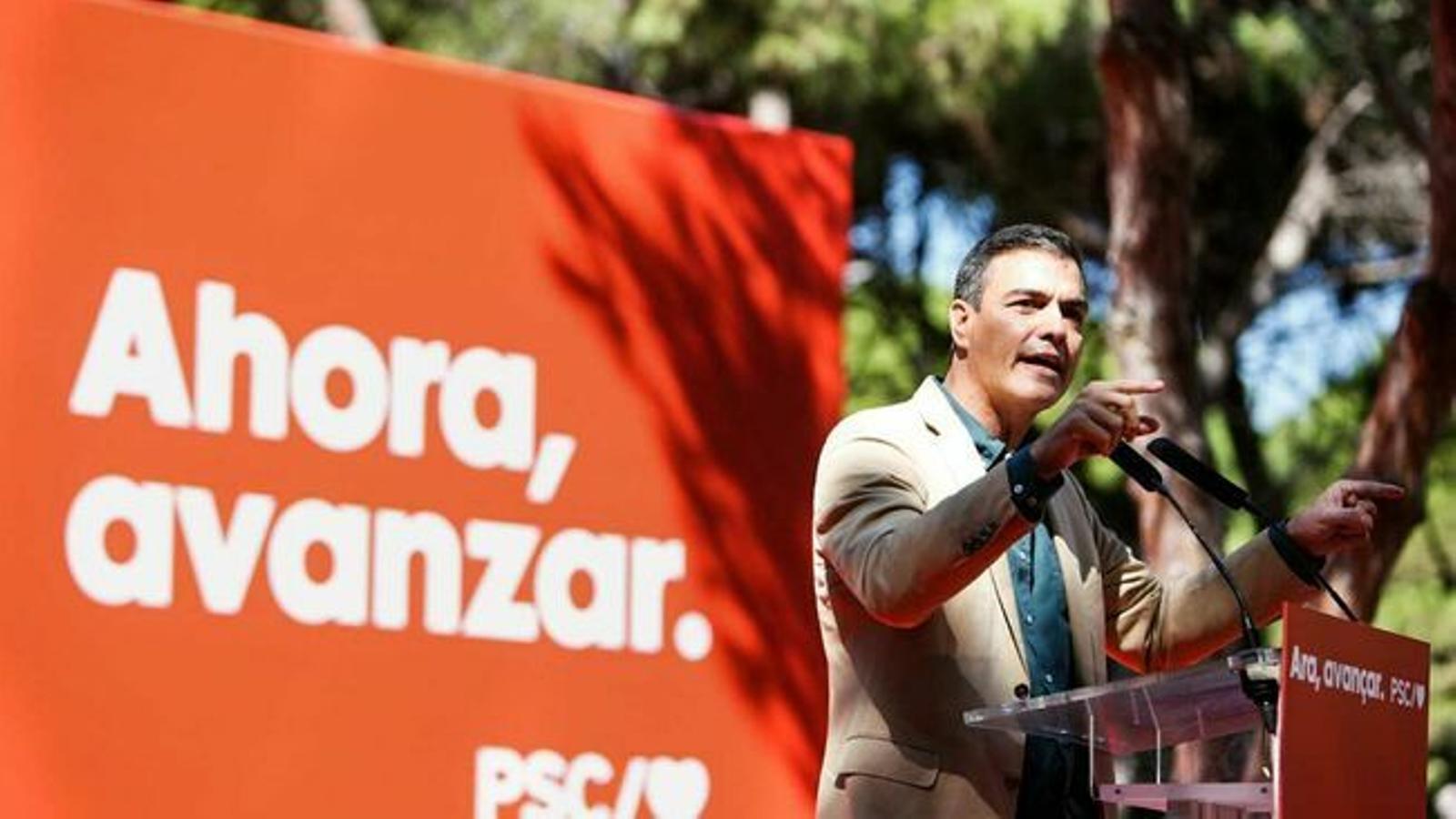 """Sánchez assegura que """"un govern en funcions pot aplicar l'article 155"""""""