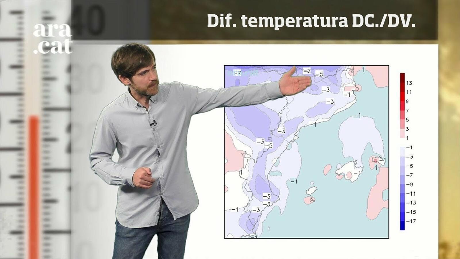 La méteo en 1 minut: refrescada a curt termini, calorada forta per Sant Joan