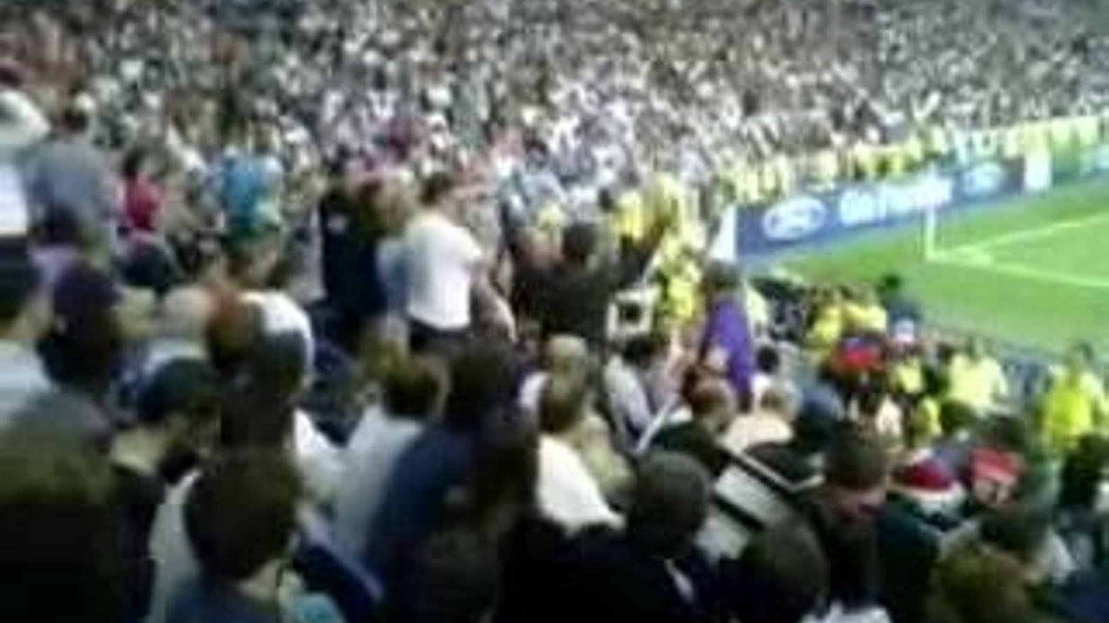 L'espectacle de Liam Gallagher al Bernabéu