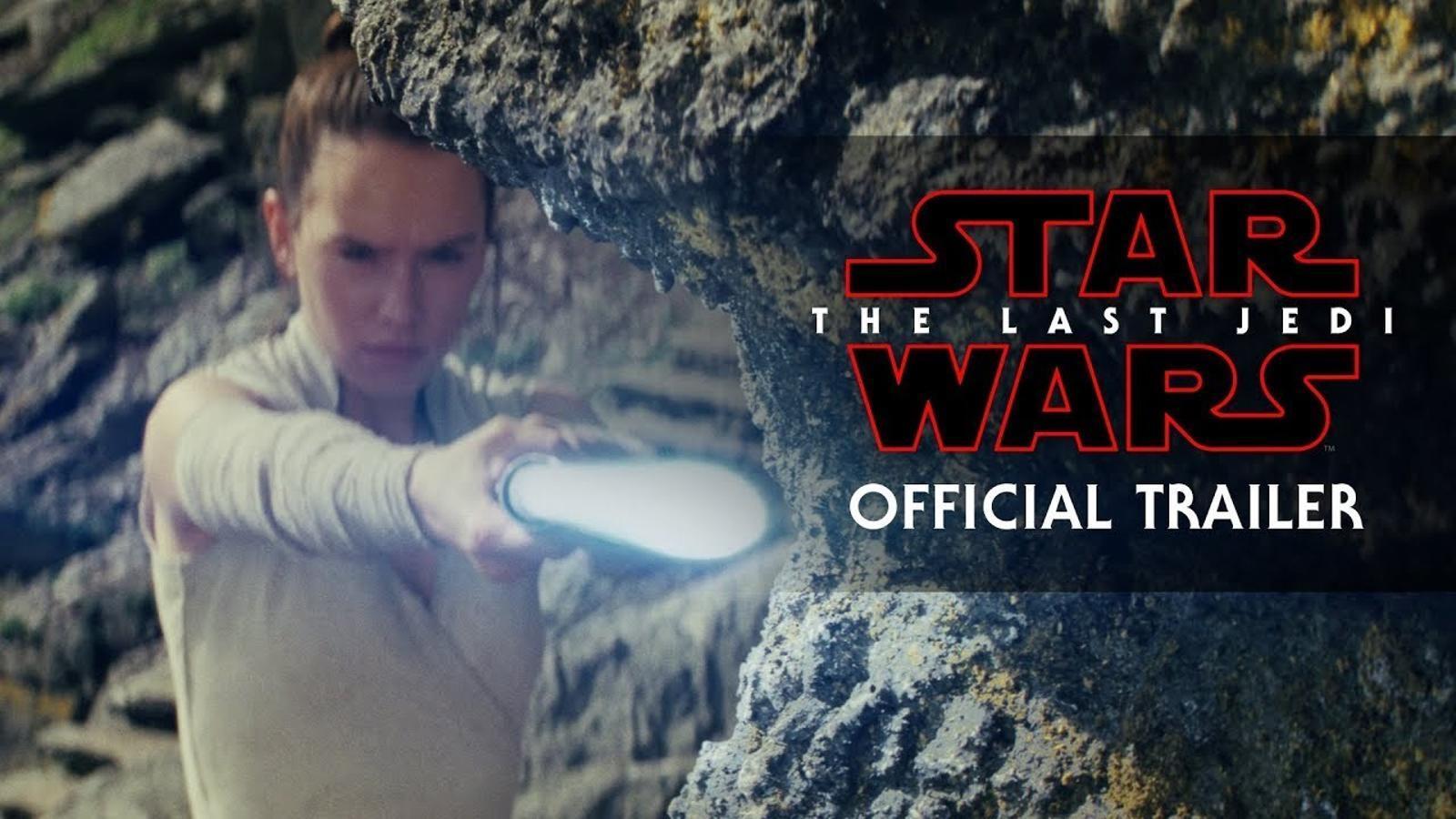 El tràiler de 'Star wars. Els últimes jedi'