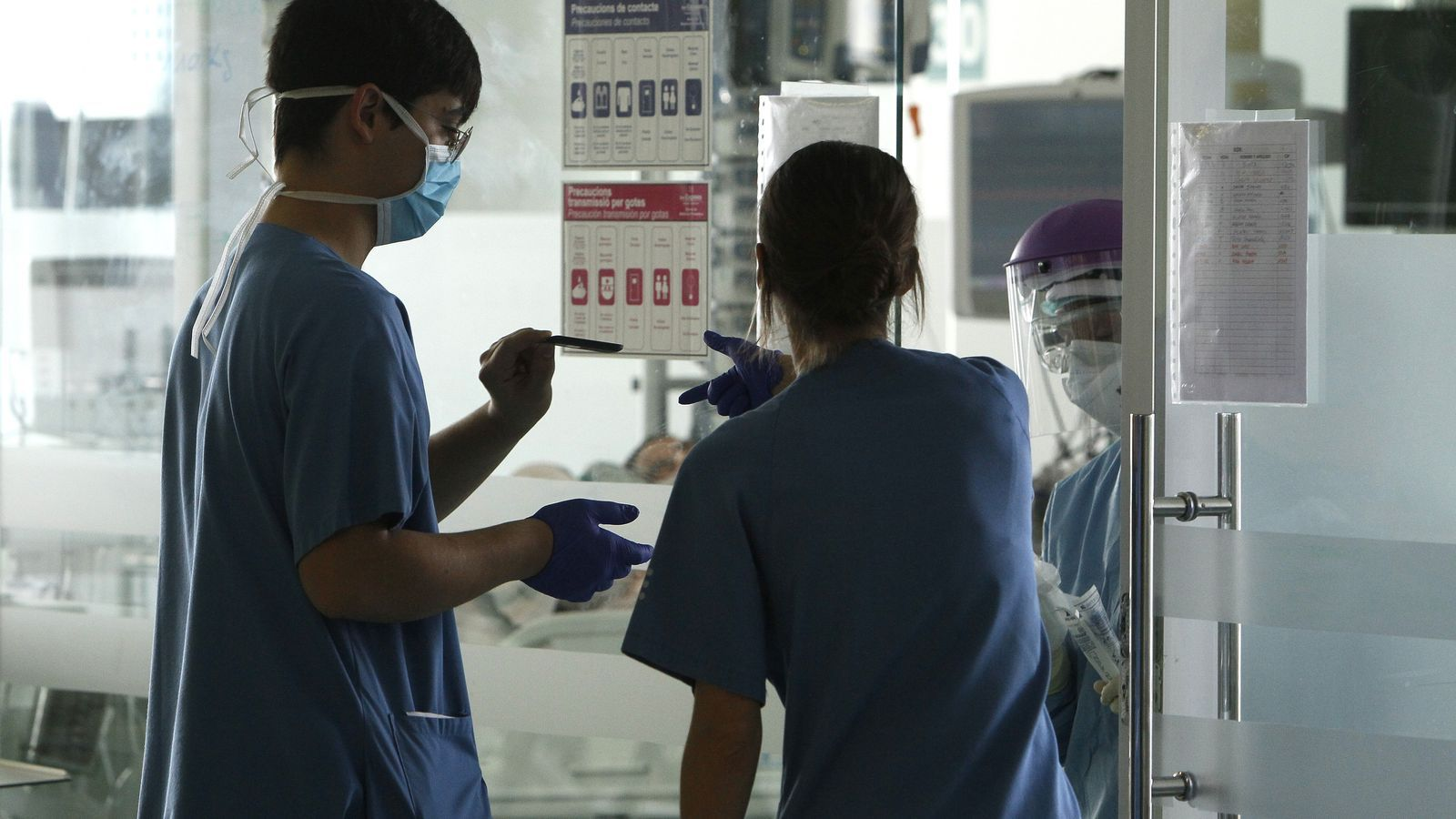 Personal sanitari de l'hospital Son Espases. / I. BUJ