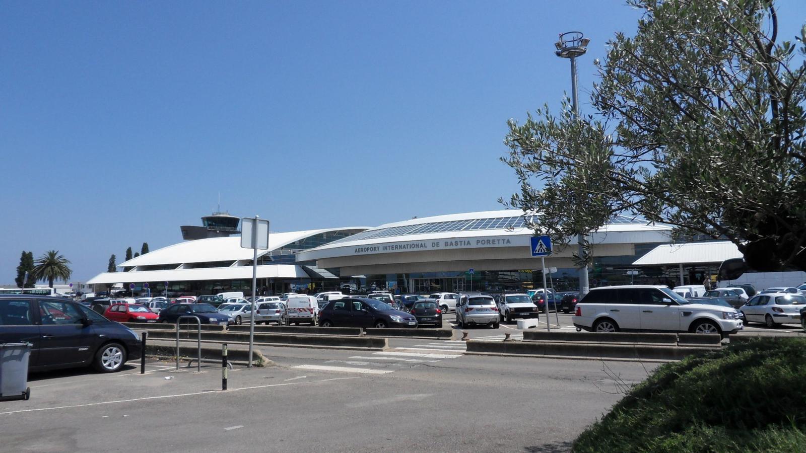 Imatge d'arxiu de l'aeroport de Bastia-Poretta, on s'ha produït el tiroteig