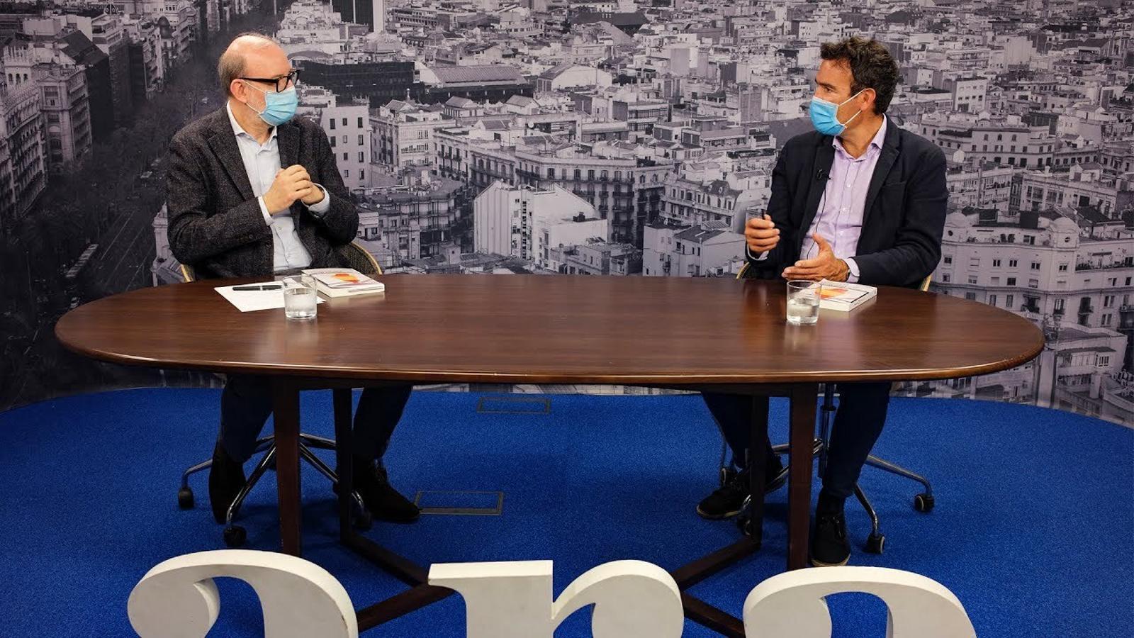 Entrevista d'Antoni Bassas a Raphael Minder