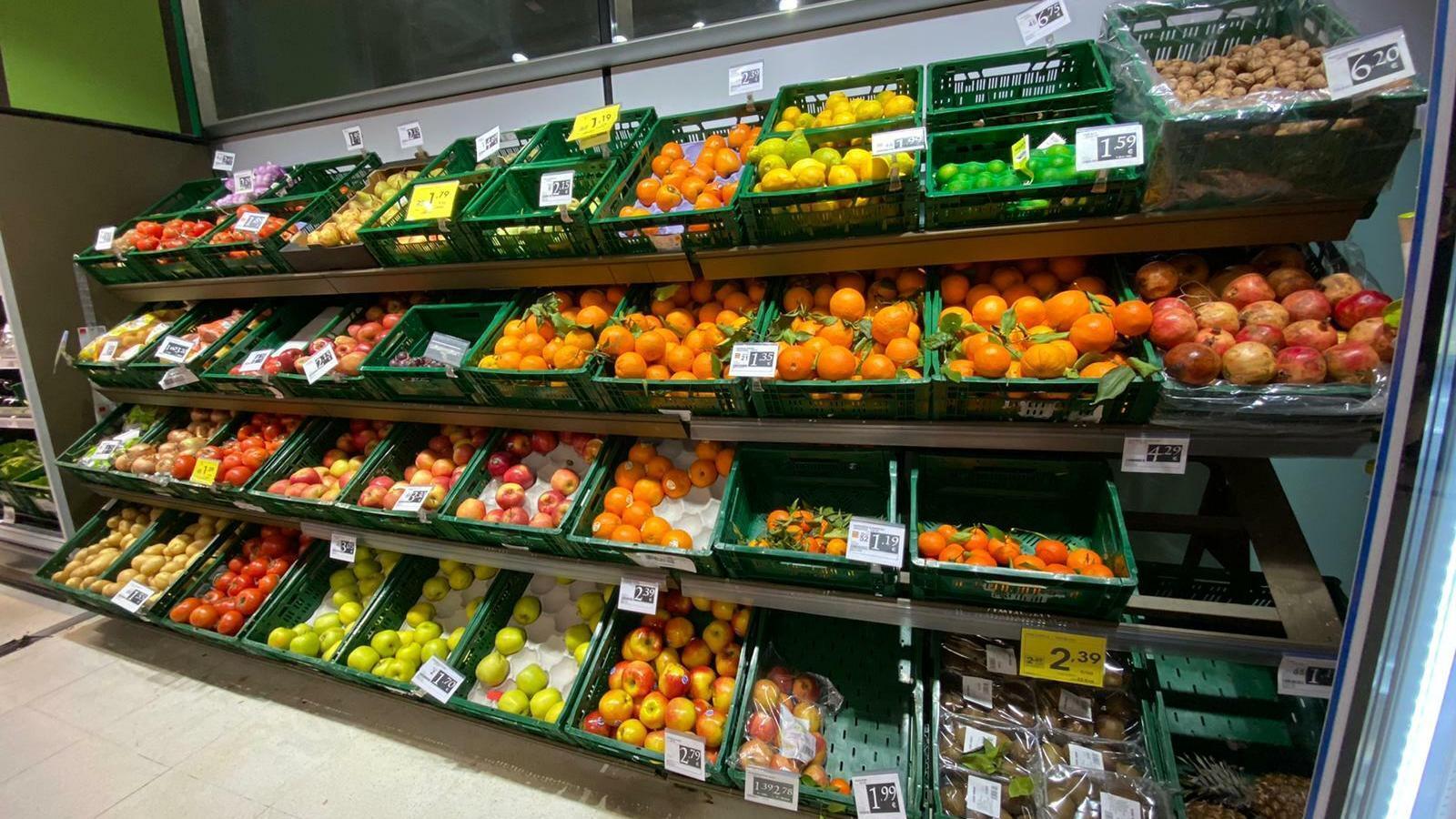 Els supermercats balears comencen a recuperar la normalitat
