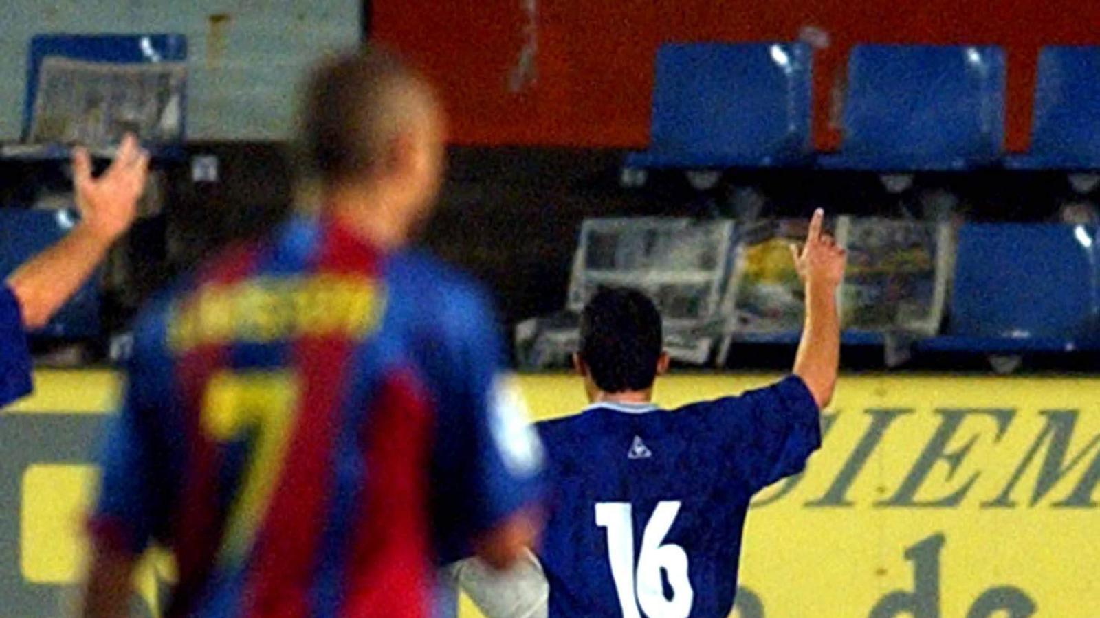 La Gramanet va eliminar el Barça a la Copa, el 2004