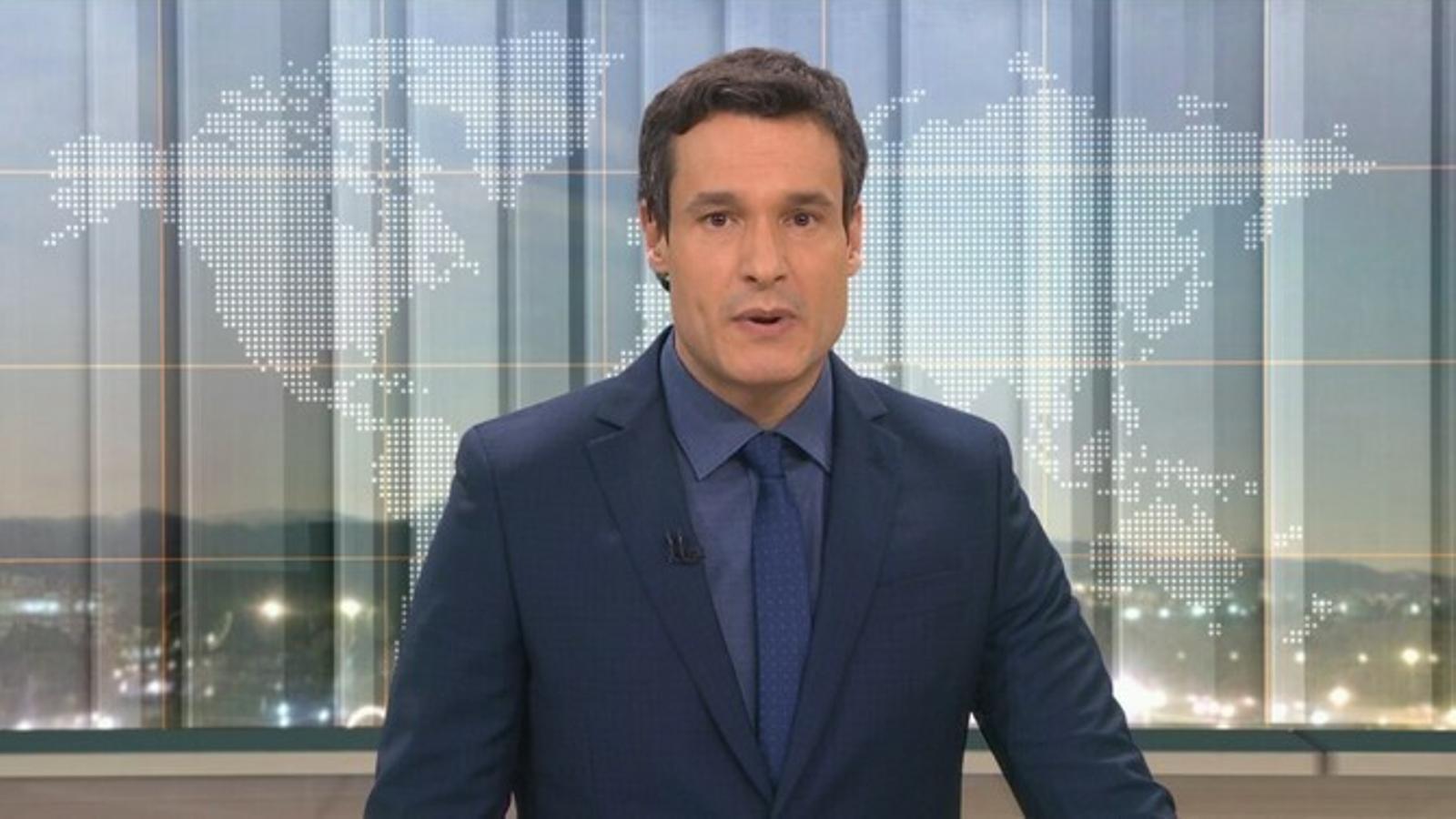 Carles Costa presenta aquests dies el 'Telenotícies vespre' en substitució de Toni Cruanyes